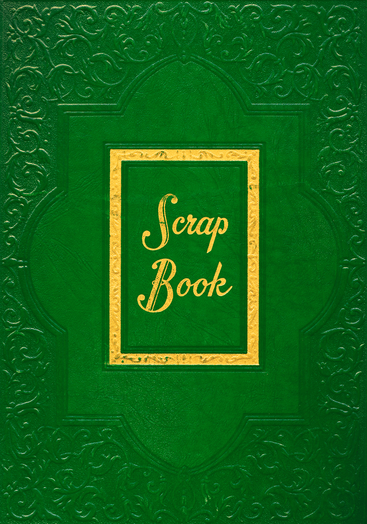 Vintage Scrapbook Cover - Green, Age, Read, Scrapbook, Scrap, HQ Photo