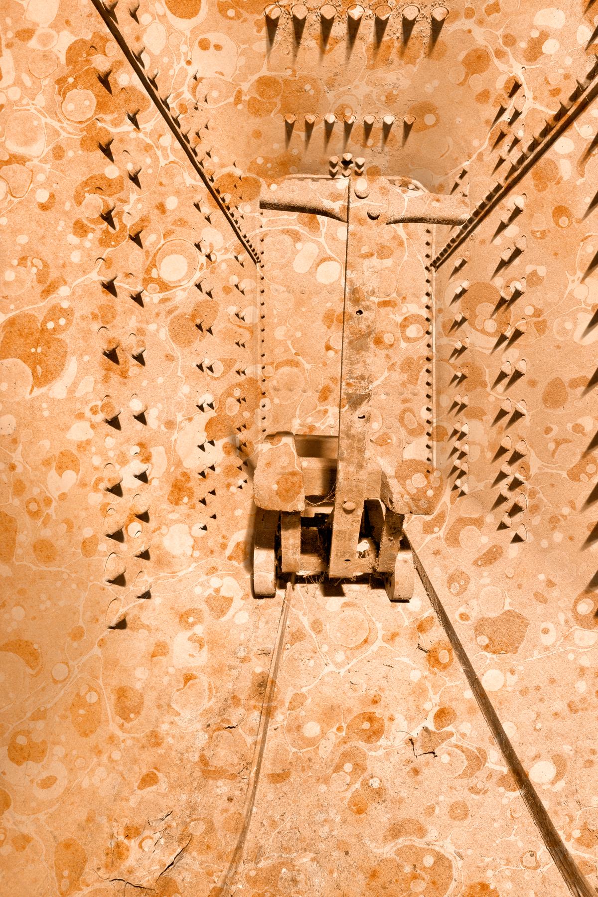 Vintage silk mill vault photo