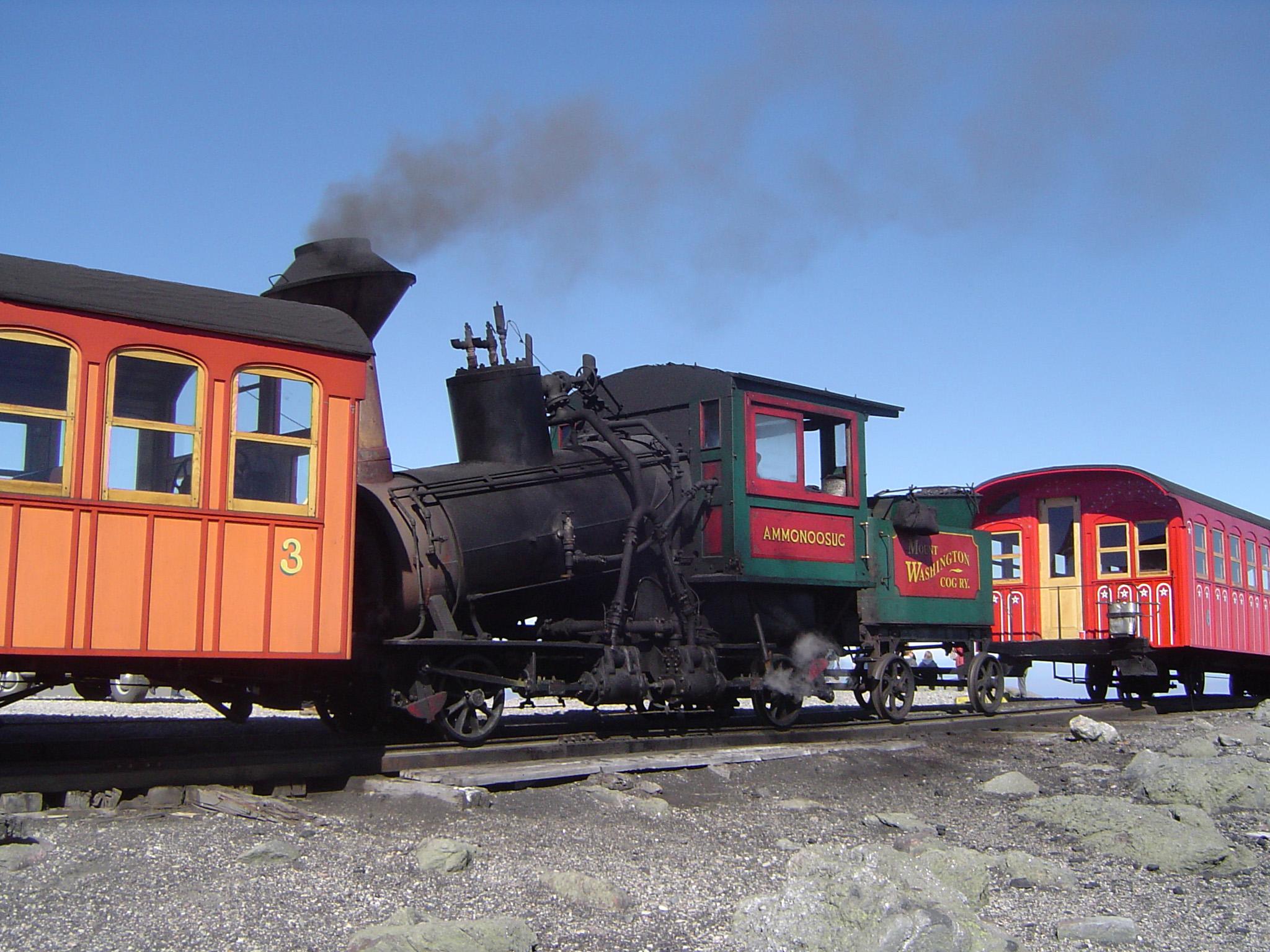 Free Stock photo of Vintage Locomotive on Cog Railway   Photoeverywhere