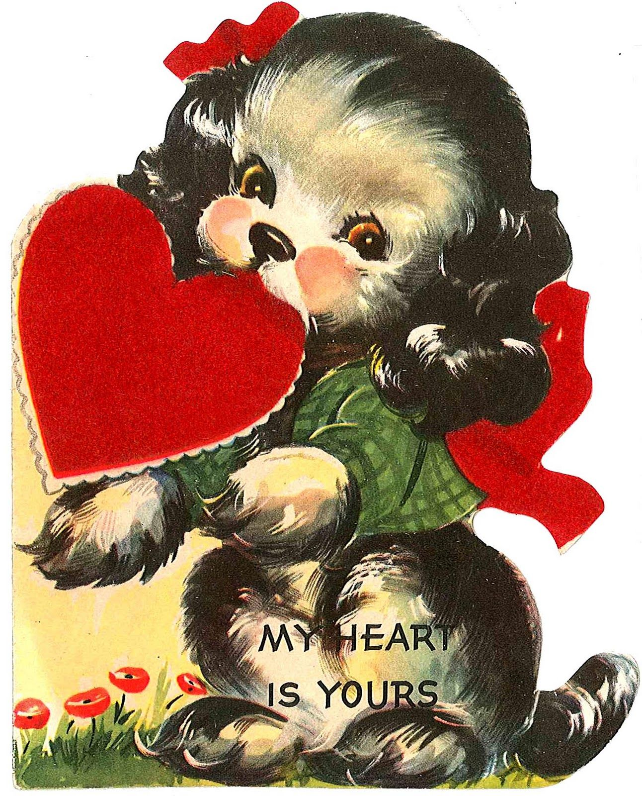 vintage valentine cards | Labels: cards , love , Valentine | Vintage ...