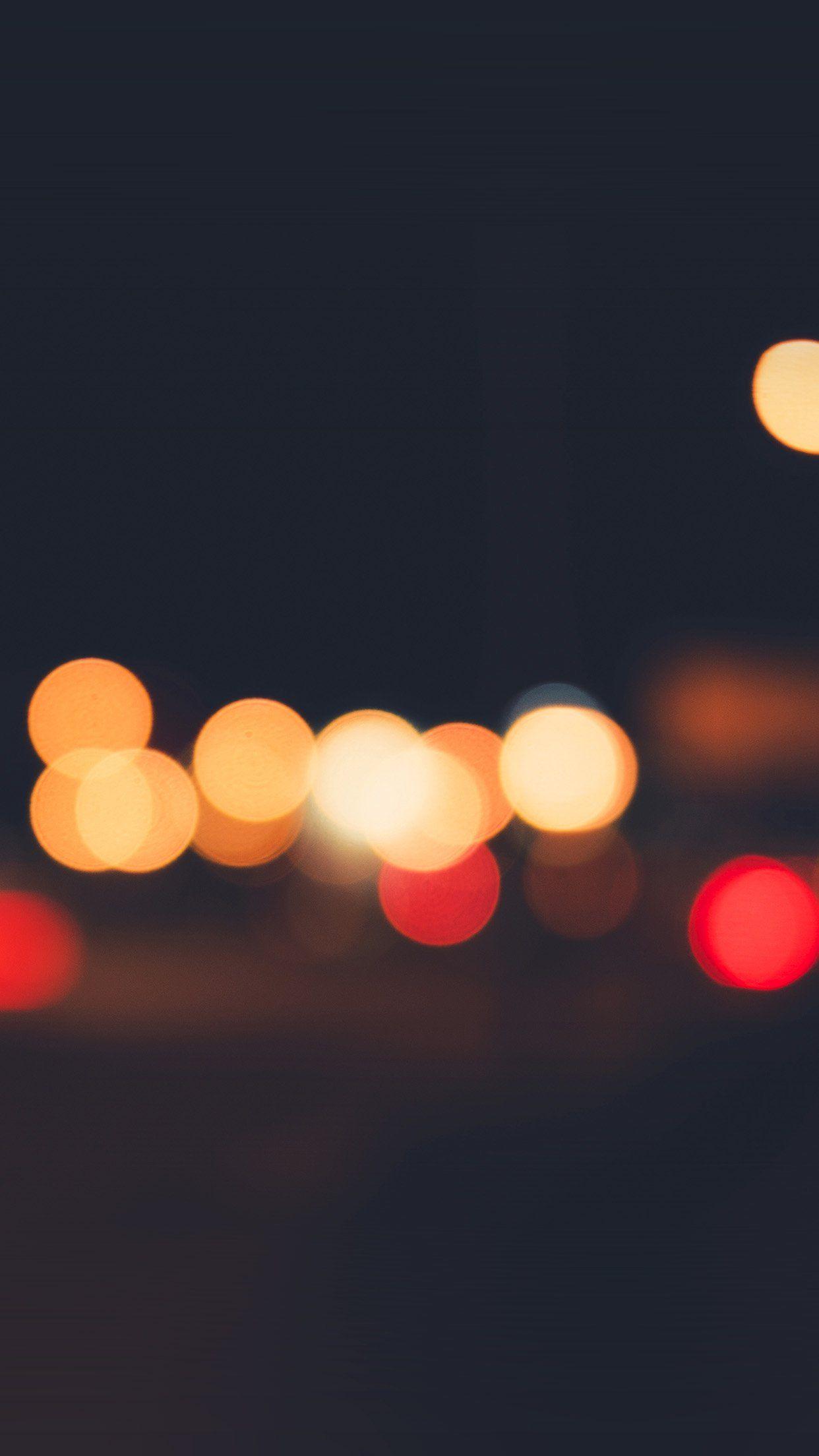 Lights Bokeh Night Blur Pattern iPhone 6 wallpaper | iPhone Love ...