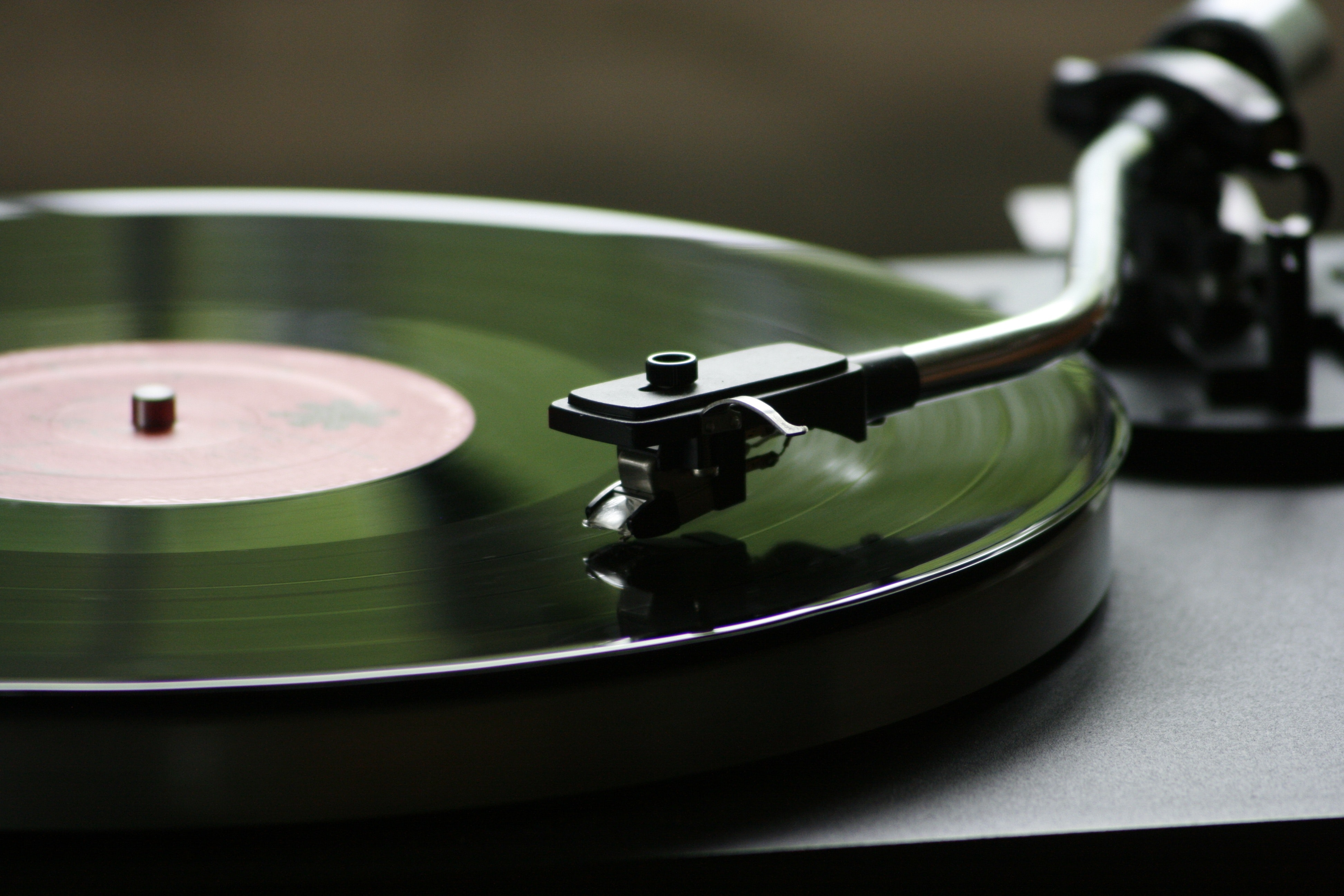 Vinyl Record Playing, Audio, Disc, Disk, Music, HQ Photo