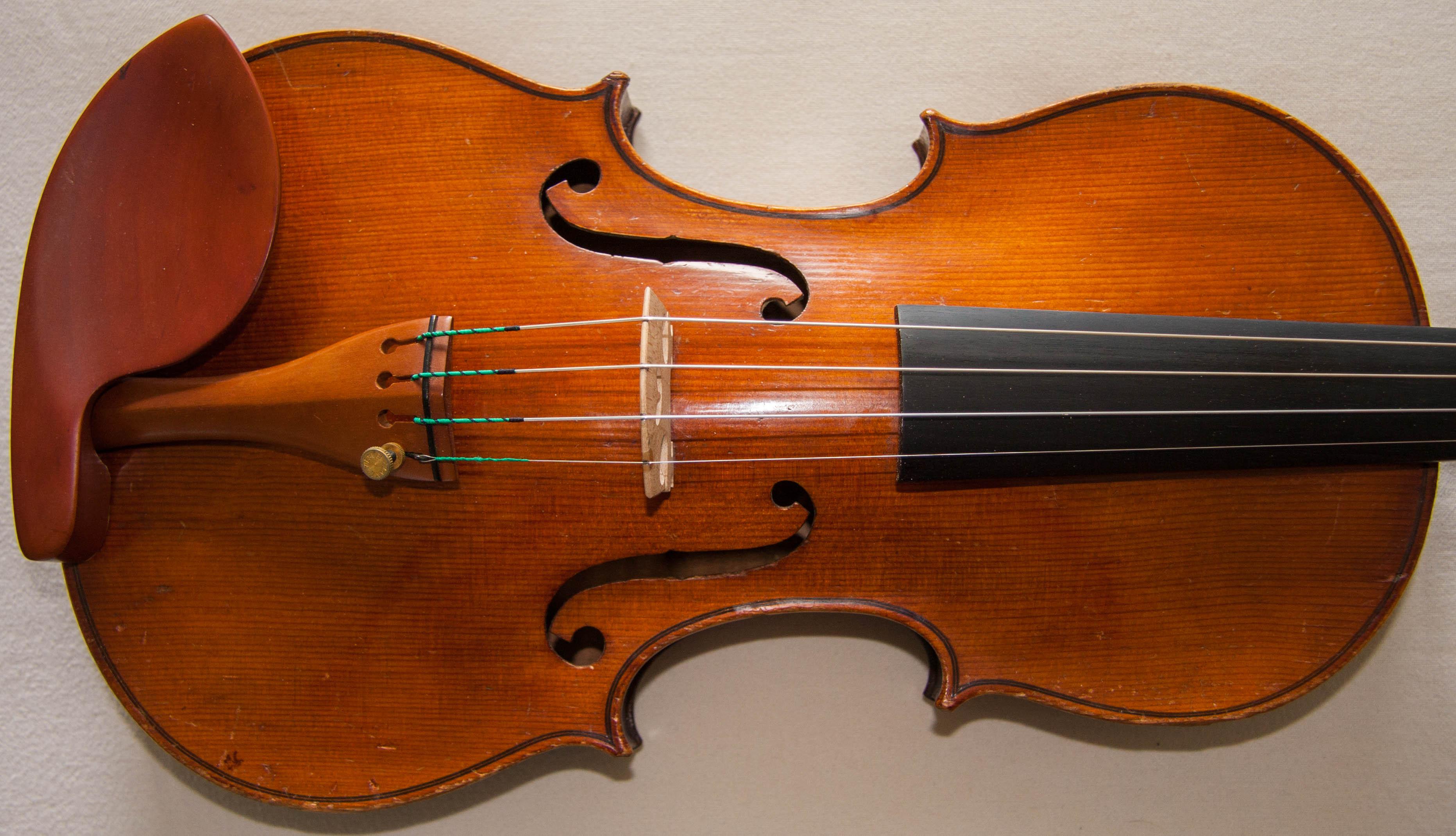 Virtuosi Violins Old Antique Violin possibly JTL ca.1900, branded ...
