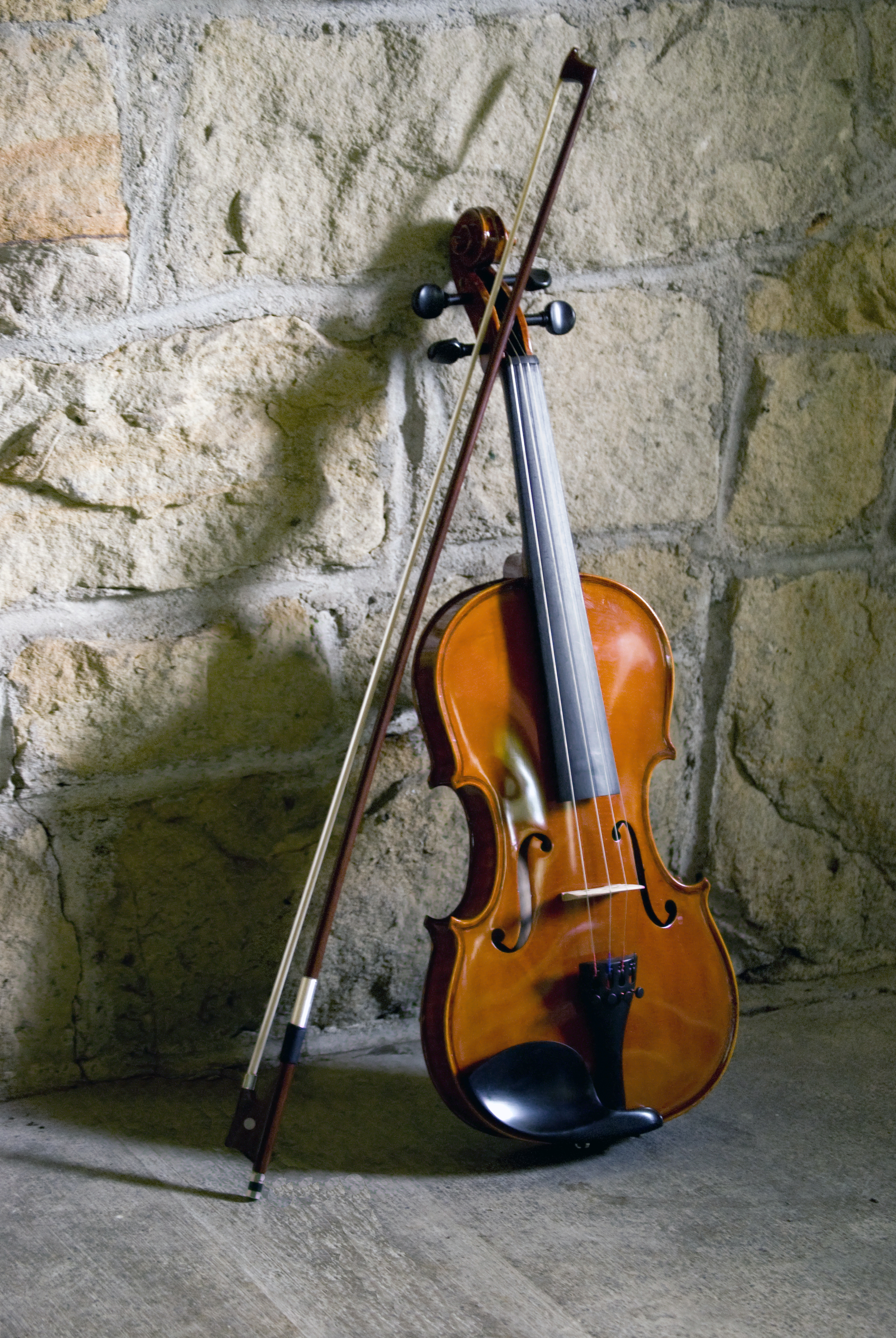 Violin & Bow String, Bow, Classical, Instrument, Isolated, HQ Photo
