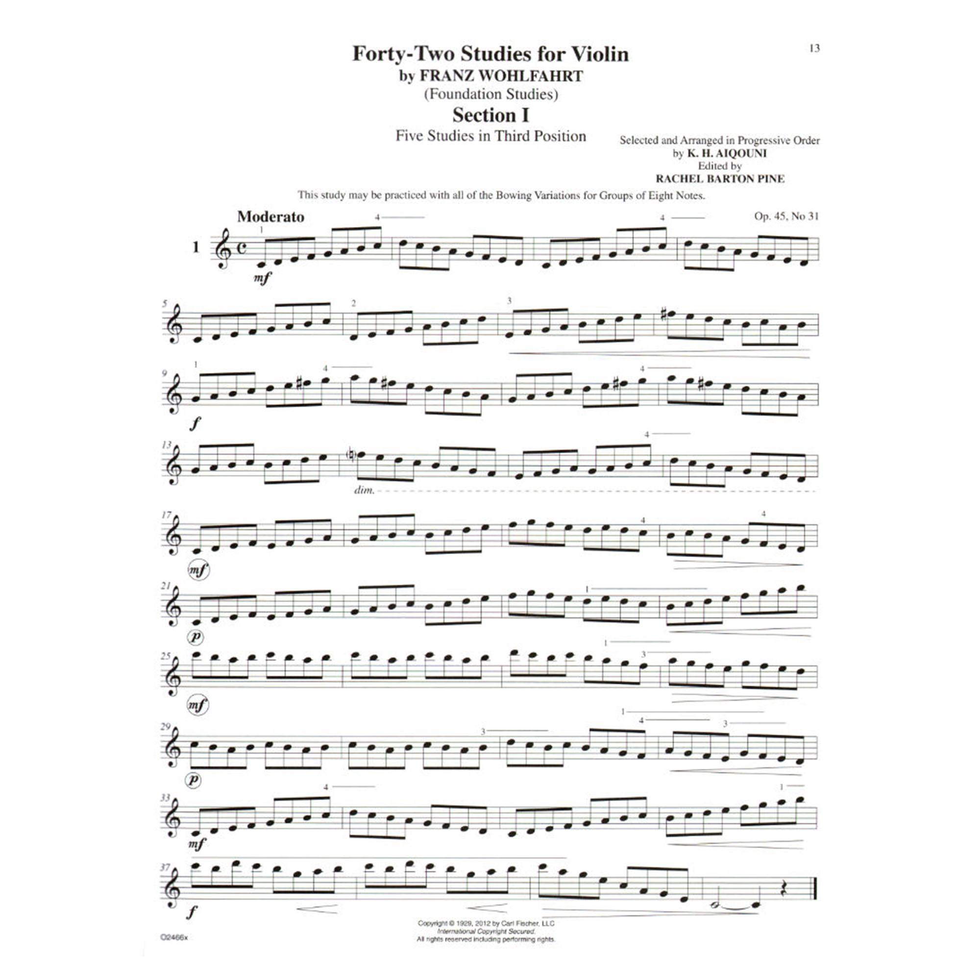 Violin study photo