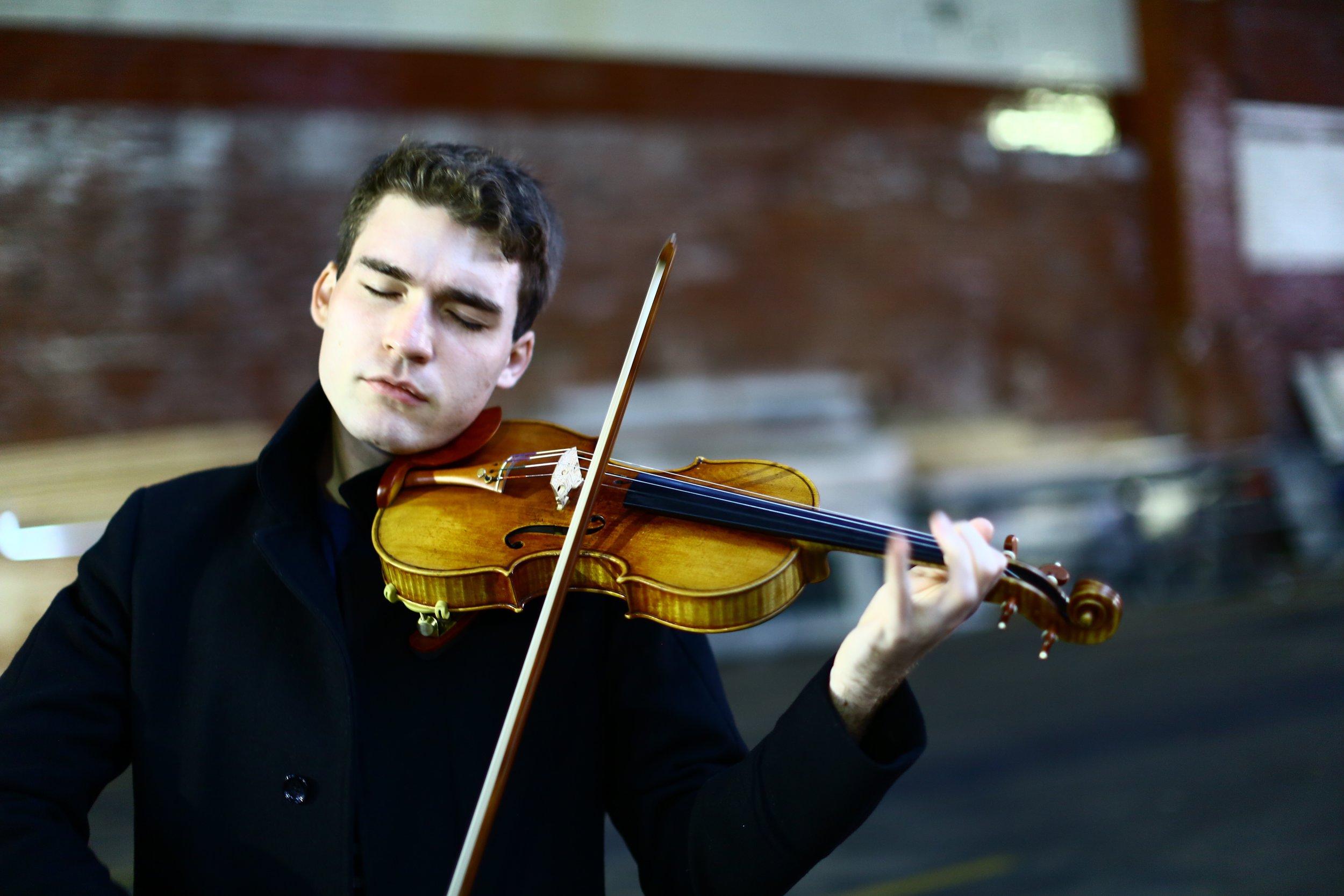 Violinist Alexi Kenney at Weill - ZEALnycZEALnyc