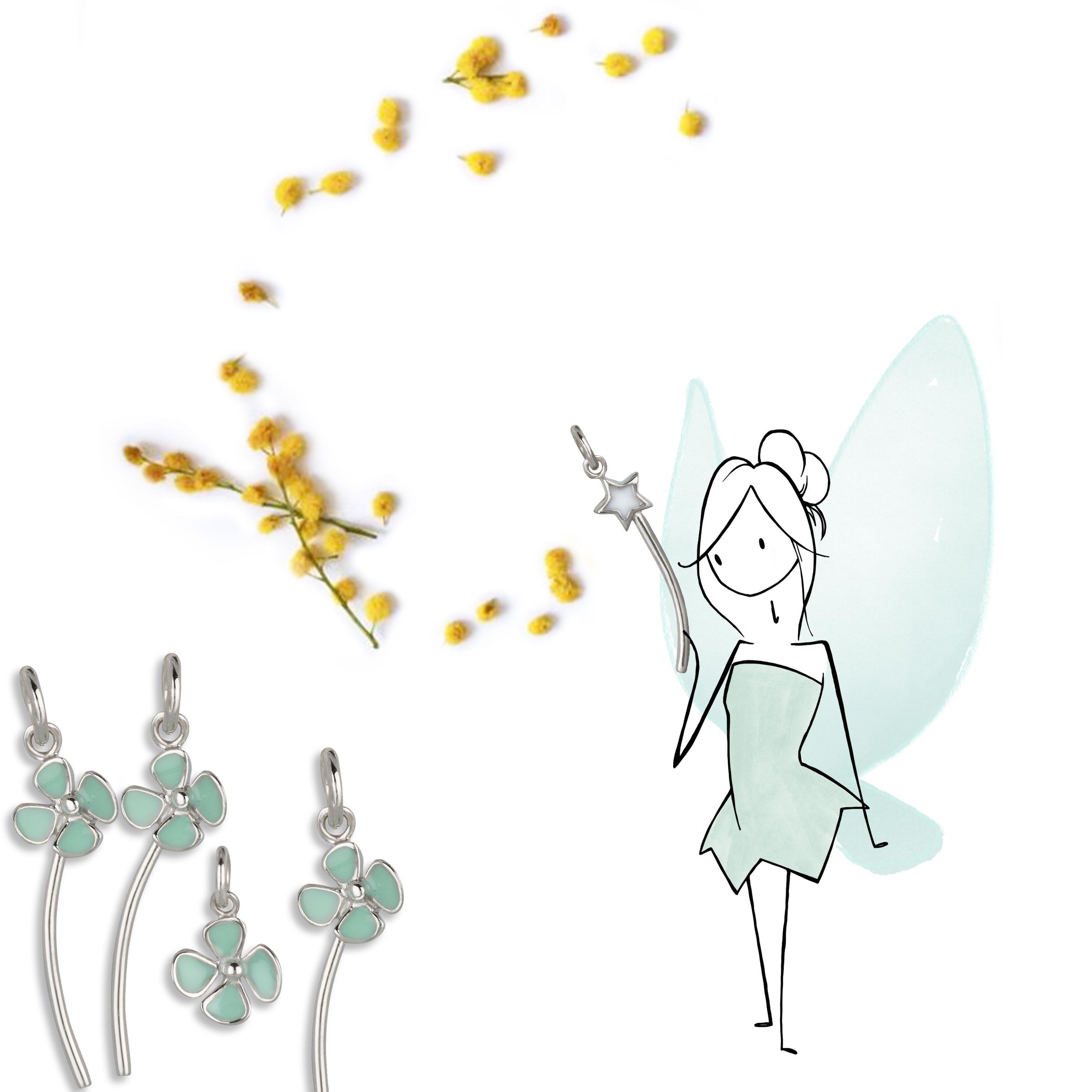 Gioielli illustrati come favole| oro, argento Virgola - Wonderlover
