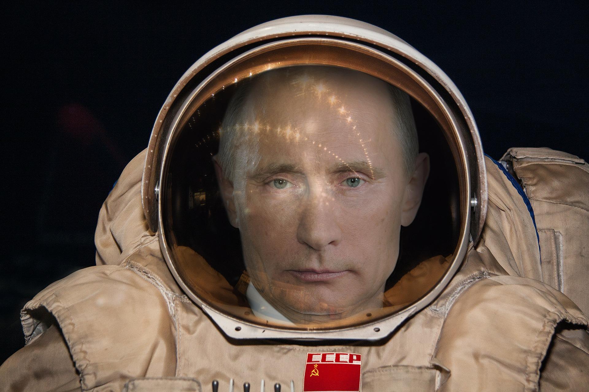 Vladimir Putin, Astronaut, Famous, President, Russia, HQ Photo