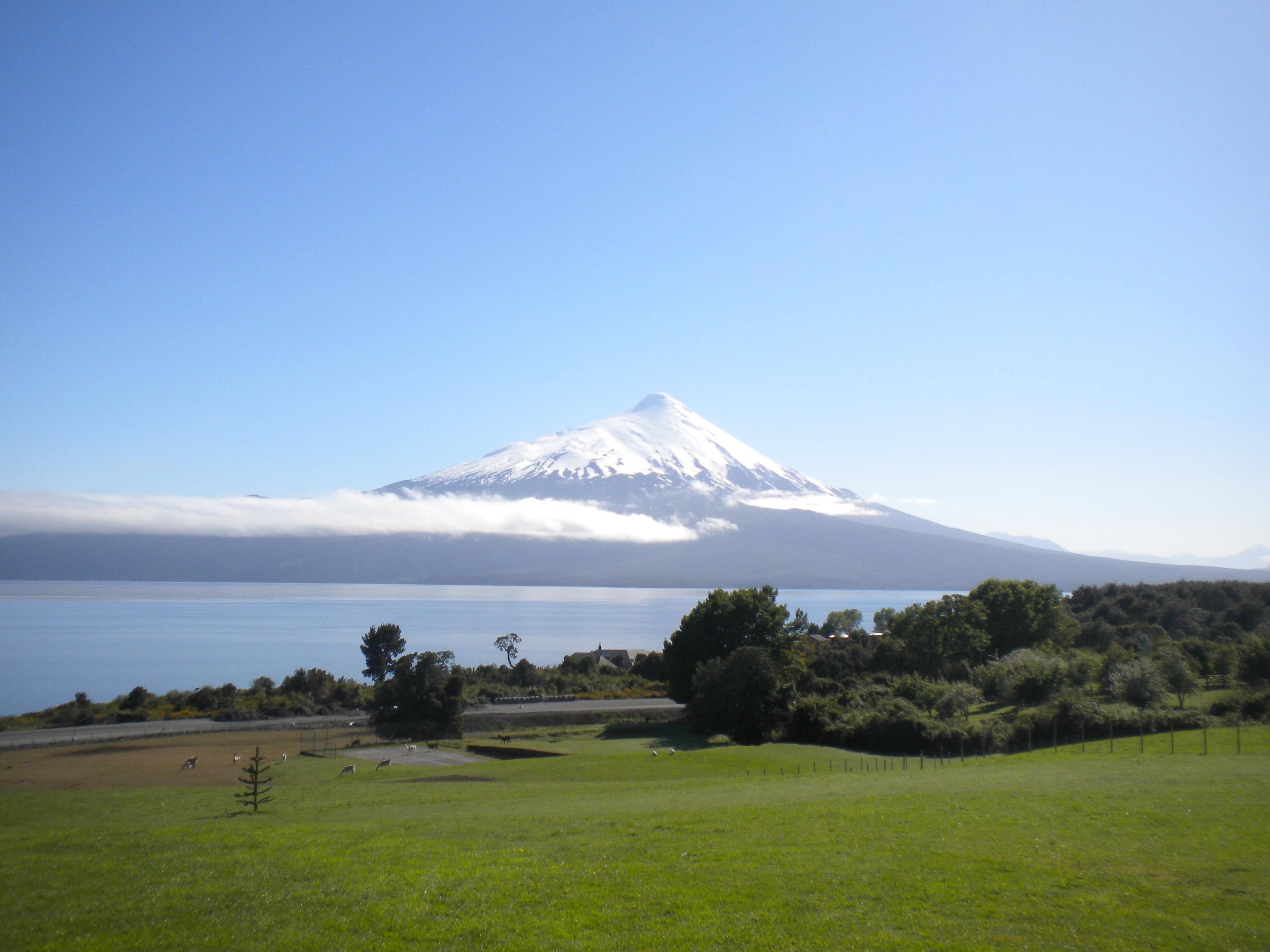 Volcan Osorno, Beautiful, Chile, Mountain, Nature, HQ Photo