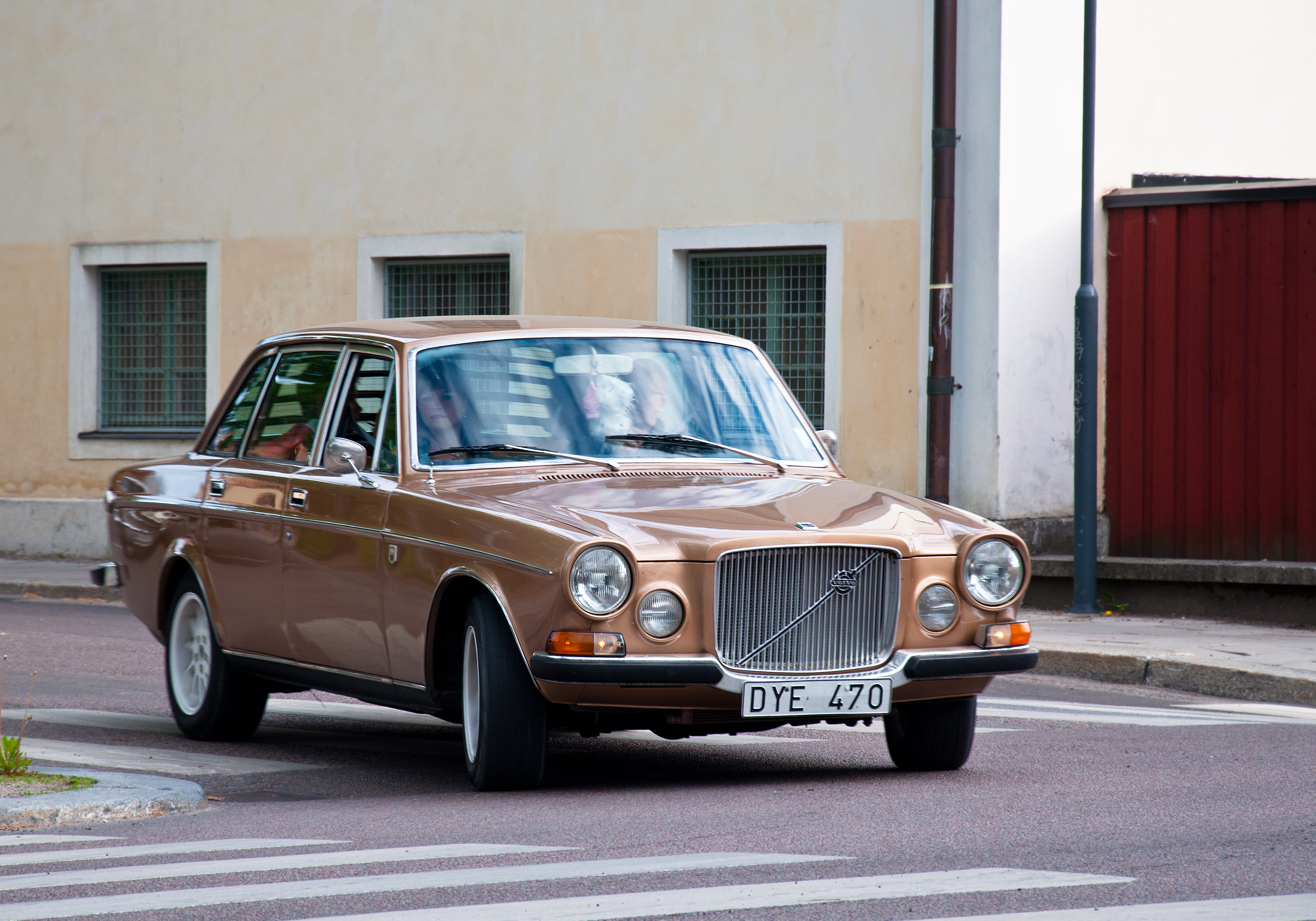 Volvo 164 from 1972, Car, Classic, Nostalgia, Restoring, HQ Photo