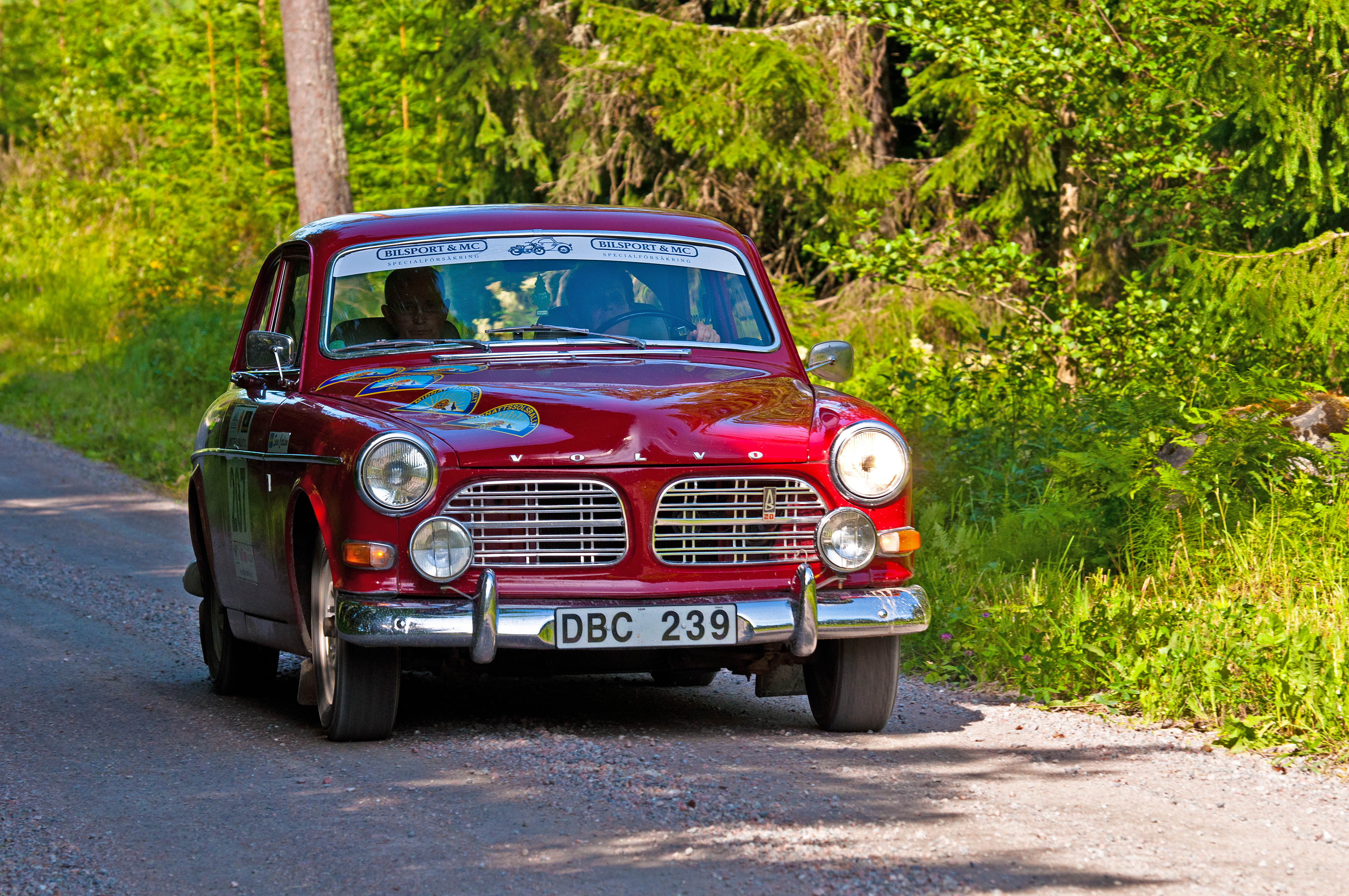 Volvo amazon from 1969 photo