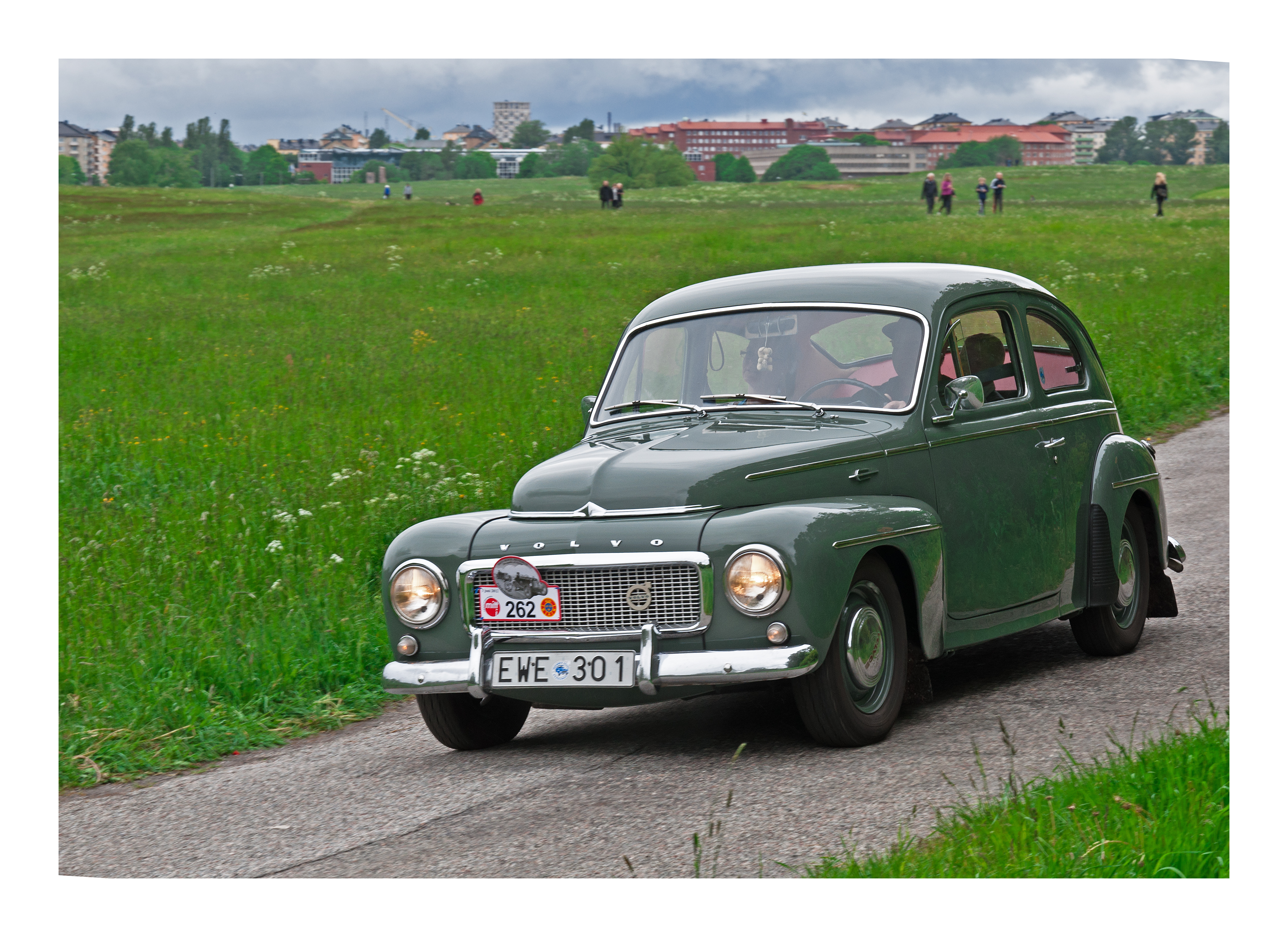 Volvo pv 544 b16a 1960 photo