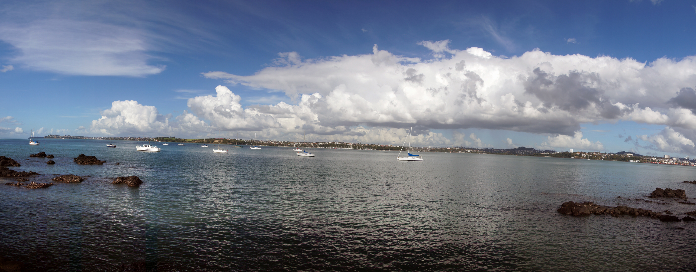 Waitemata harbour. auckland nz. photo