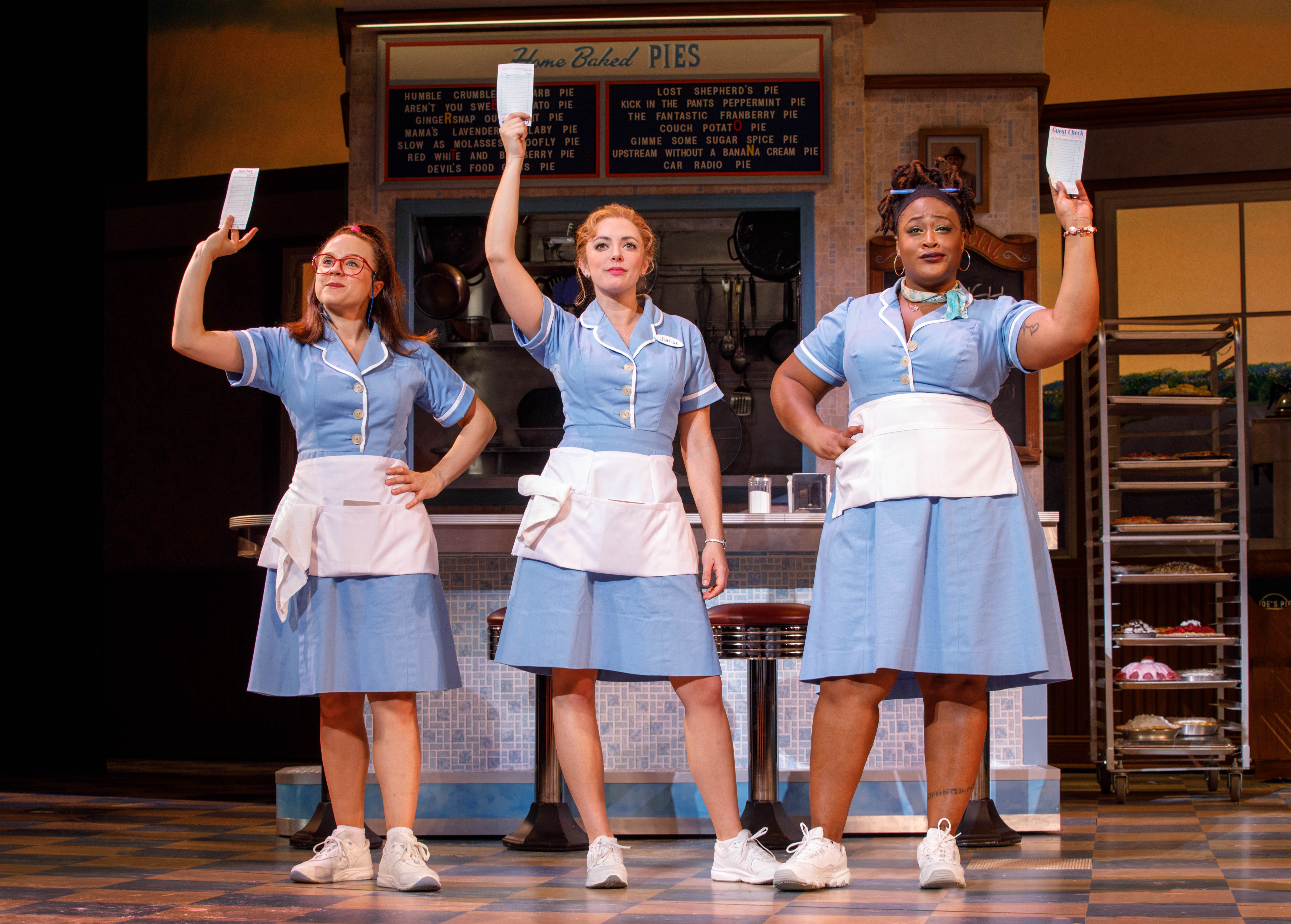 Watch Clips From the National Tour of Waitress | Playbill