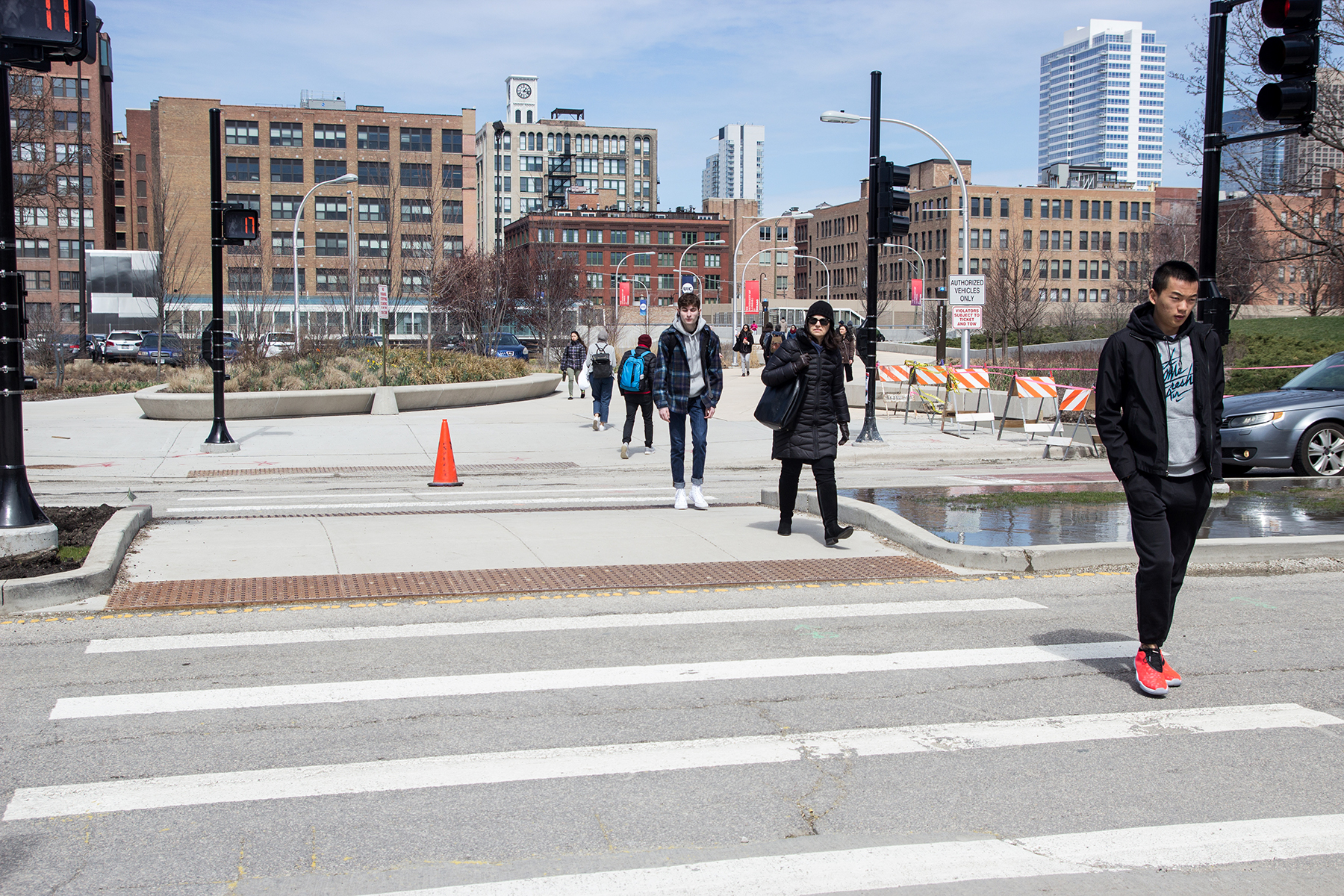 Stay safe, use the crosswalk | UIC Today