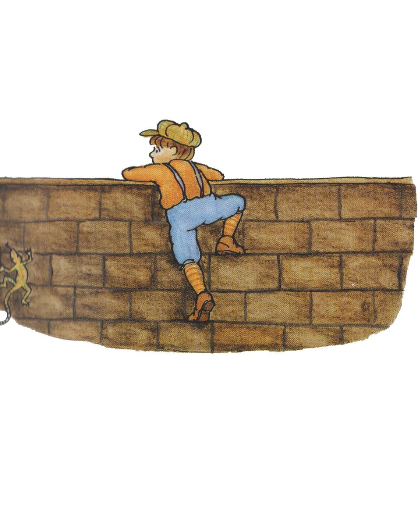 peeking over the wall - YouTube