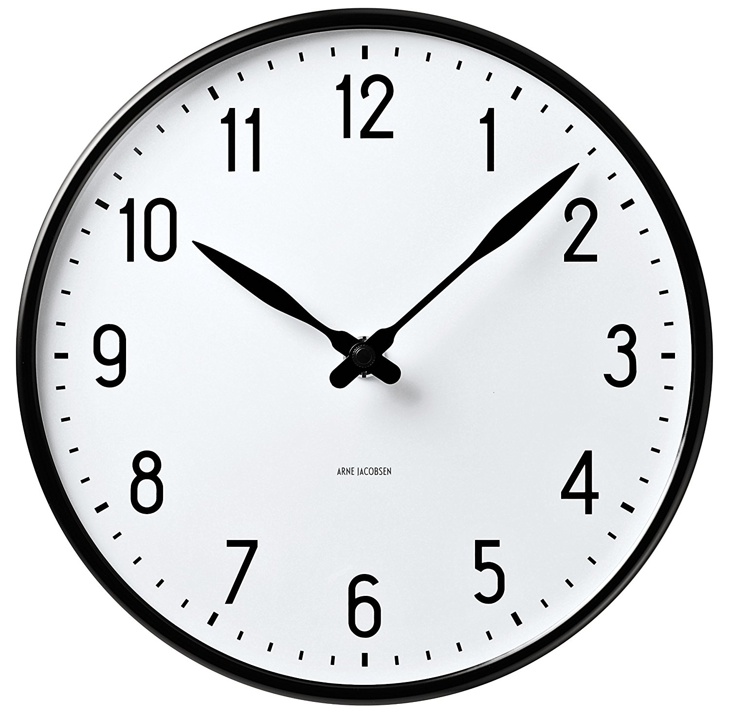 Amazon.com: ARNE JACOBSEN STATION WALL CLOCK 290 43643: Home & Kitchen