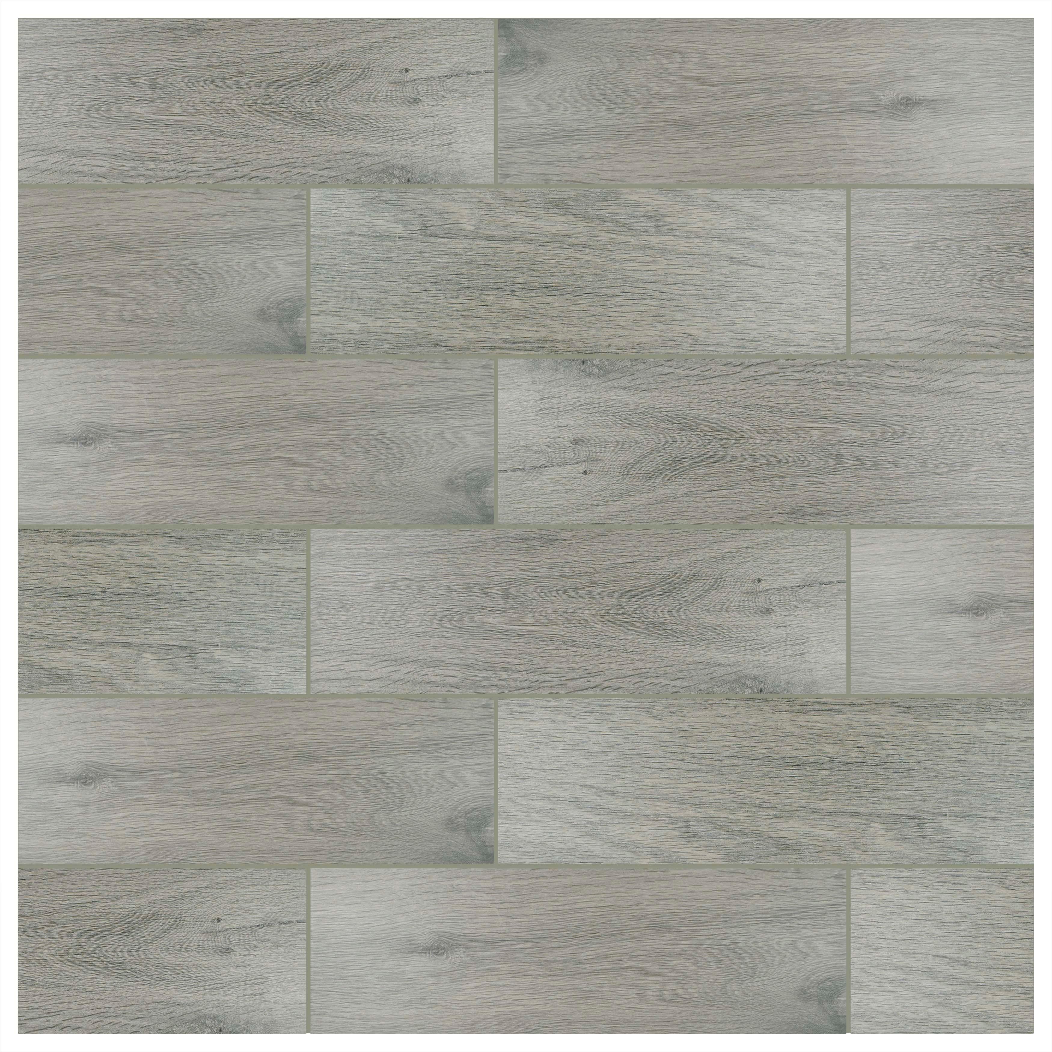SomerTile Multi-Size Vincoli Gris Porcelain Floor and Wall Tile (12 ...