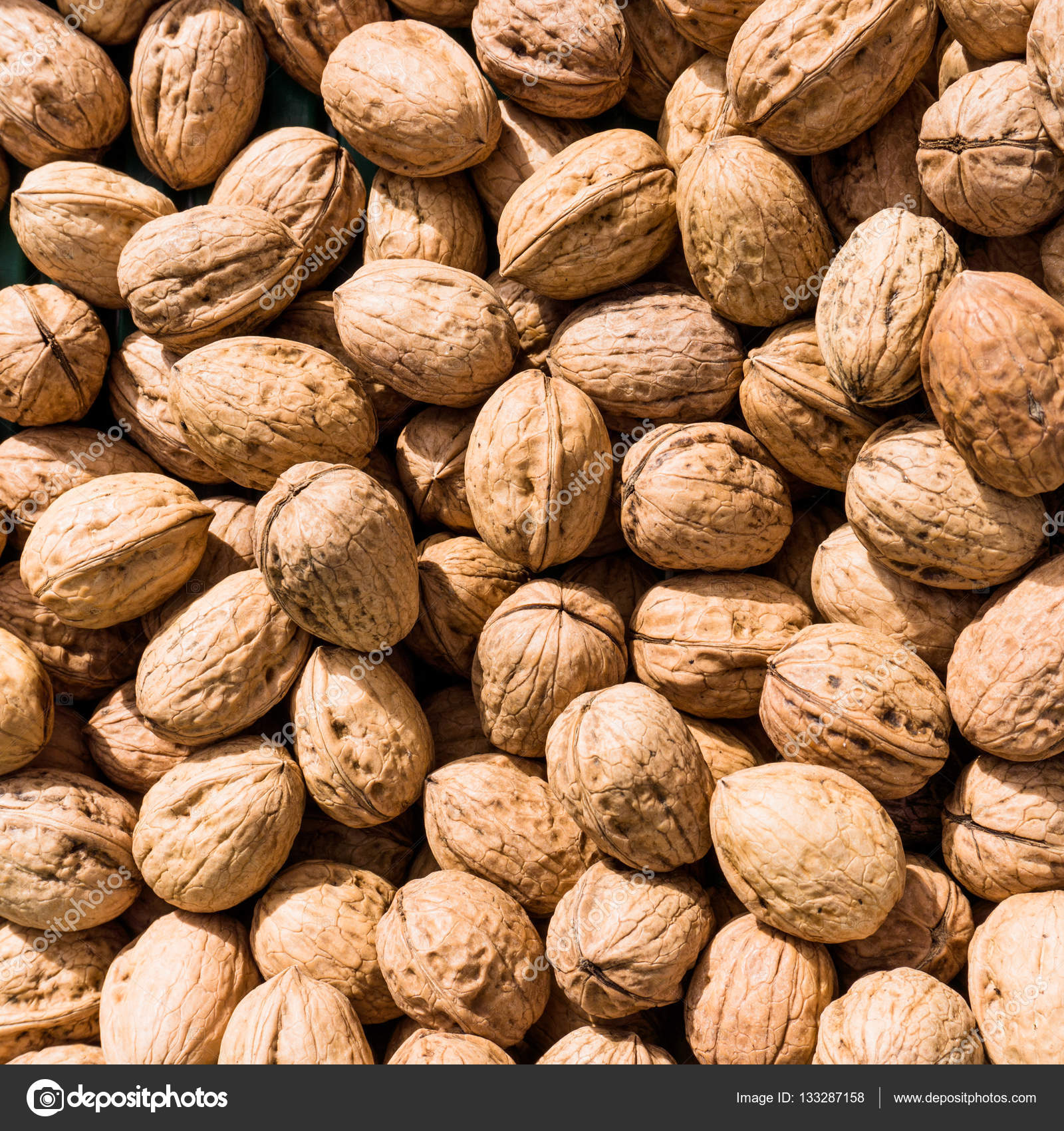 Walnut background. walnut as a texture — Stock Photo © ewastudio ...