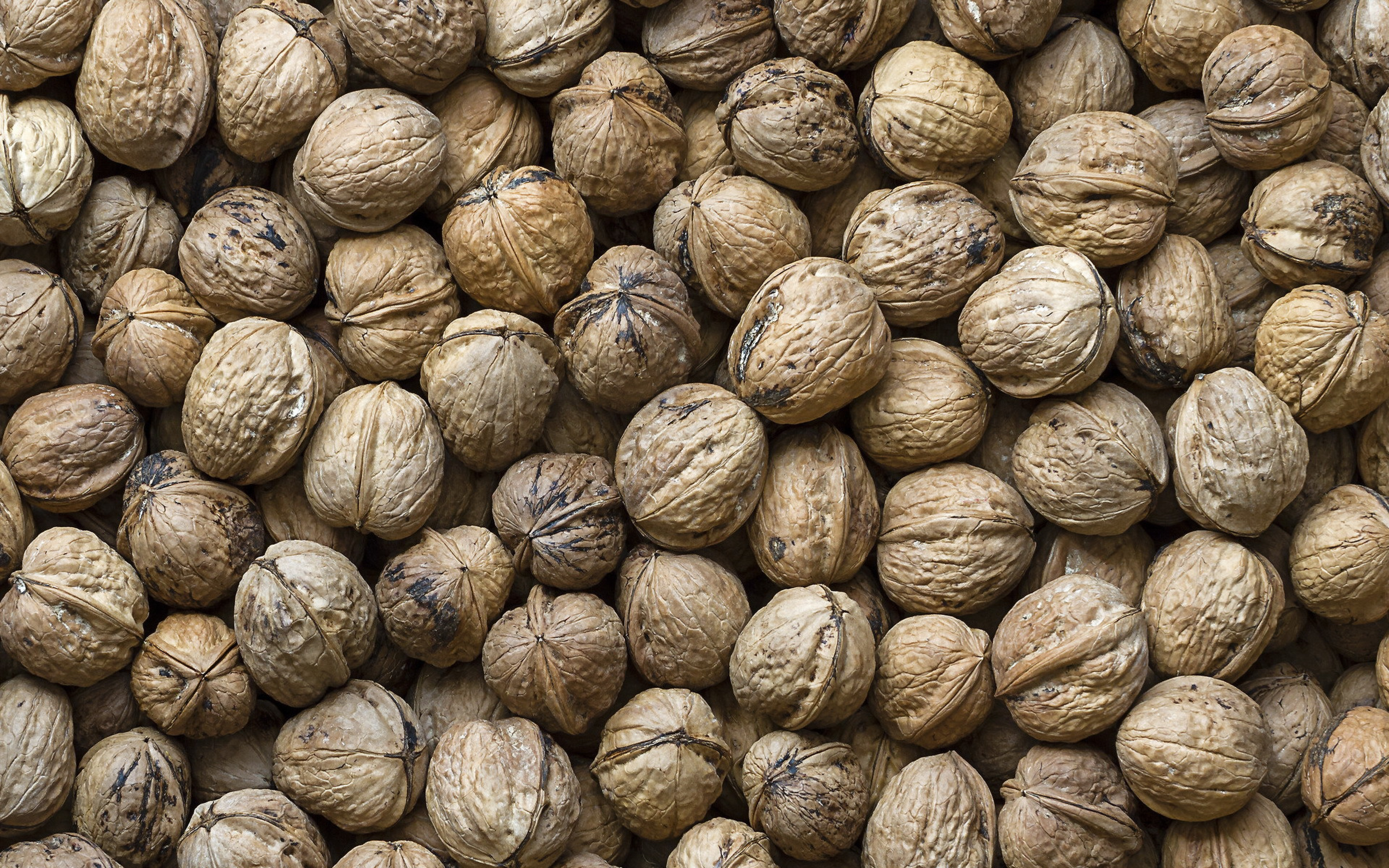 HD Background Walnuts Shelled Nuts Texture Dried Fruit Wallpaper ...