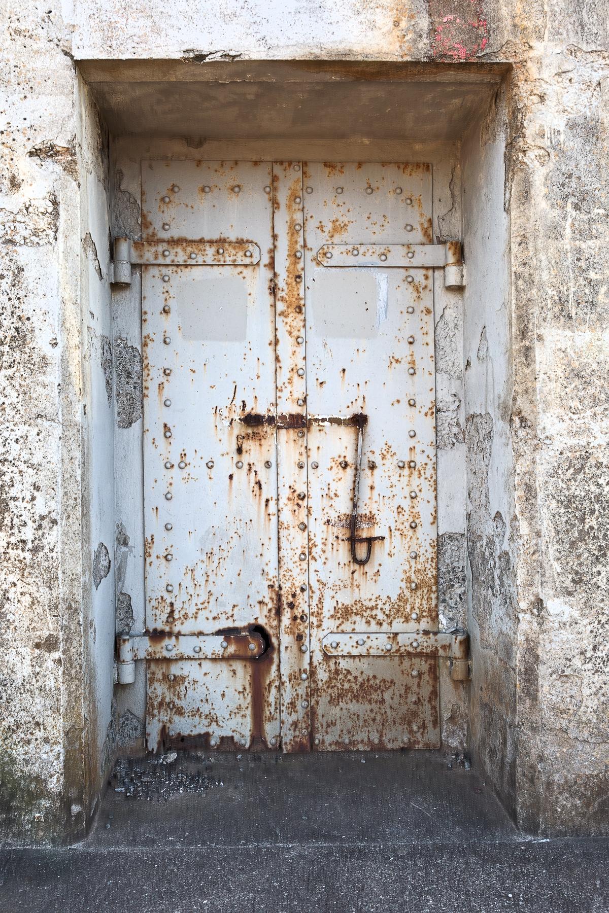 War bunker door - hdr photo