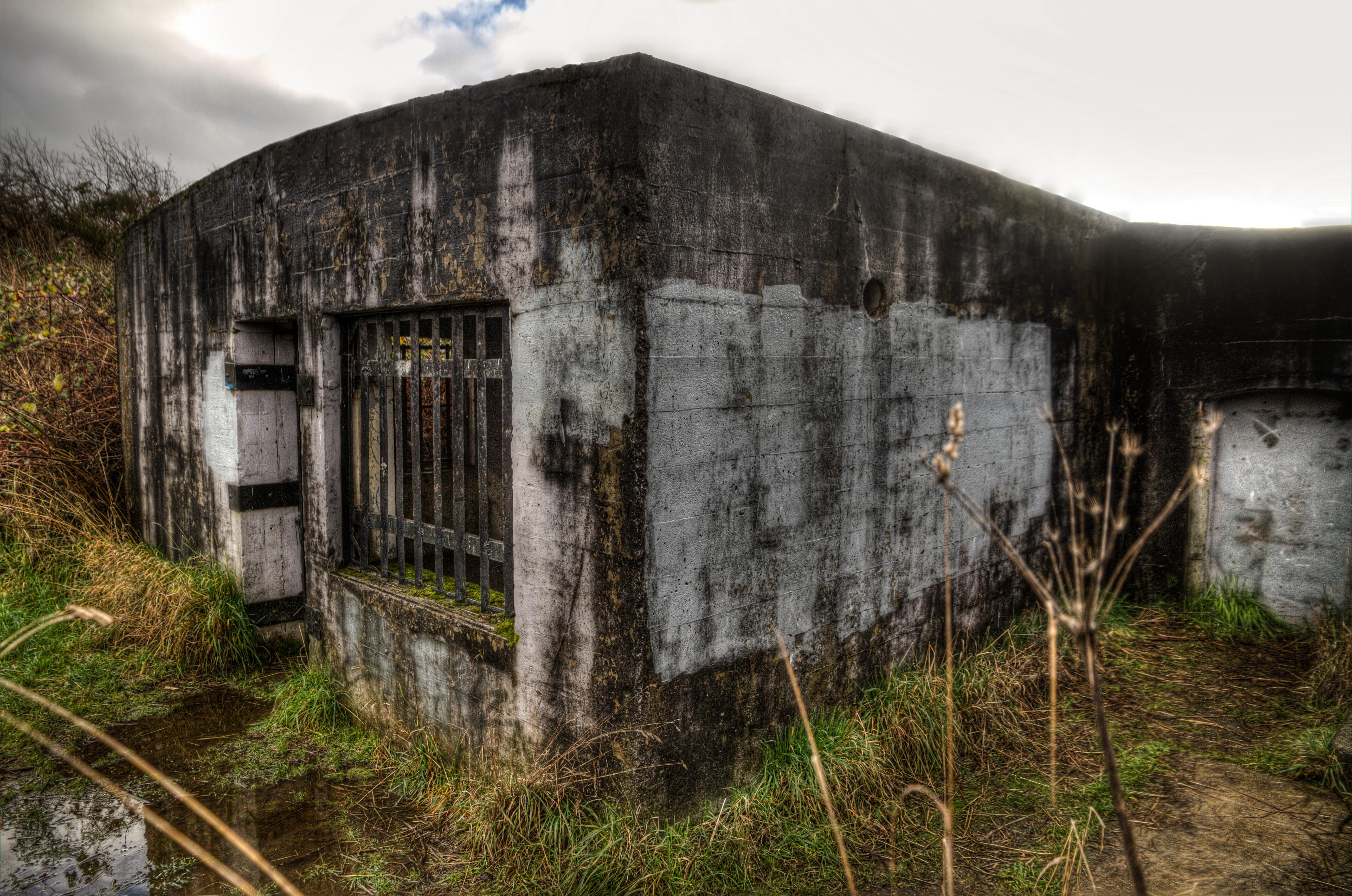 War bunker photo