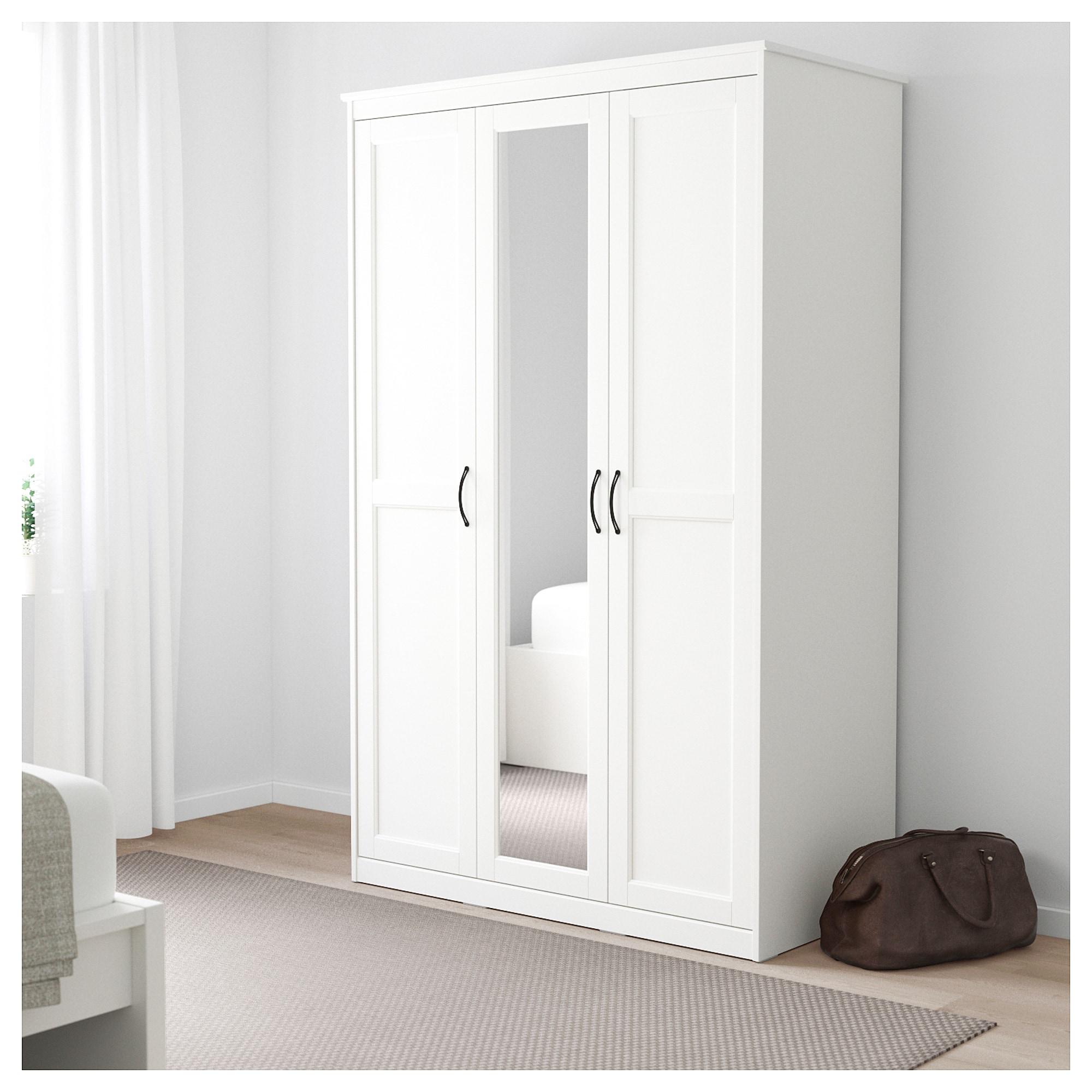 SONGESAND Wardrobe - white - IKEA