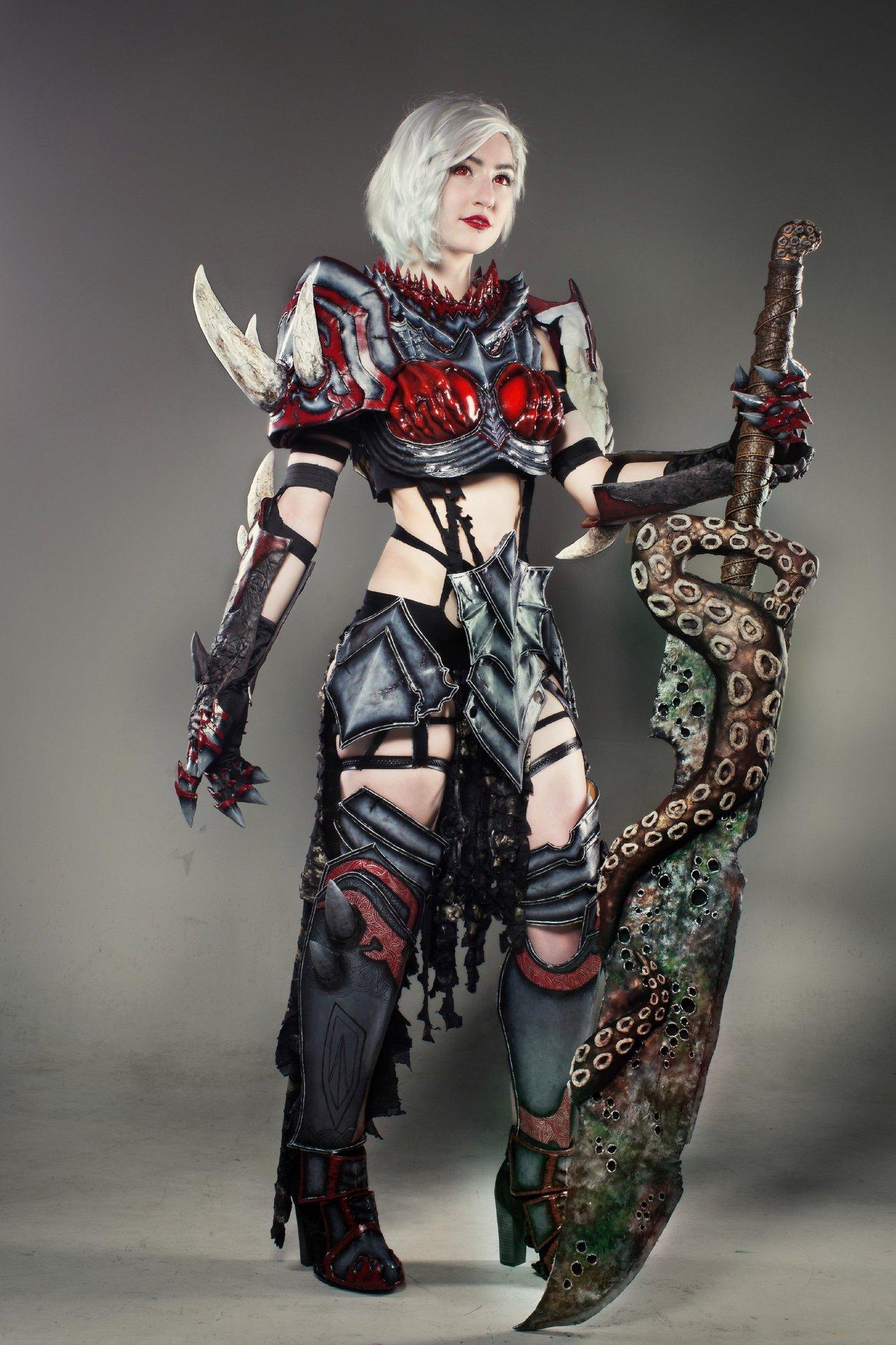 Warrior cosplayer photo
