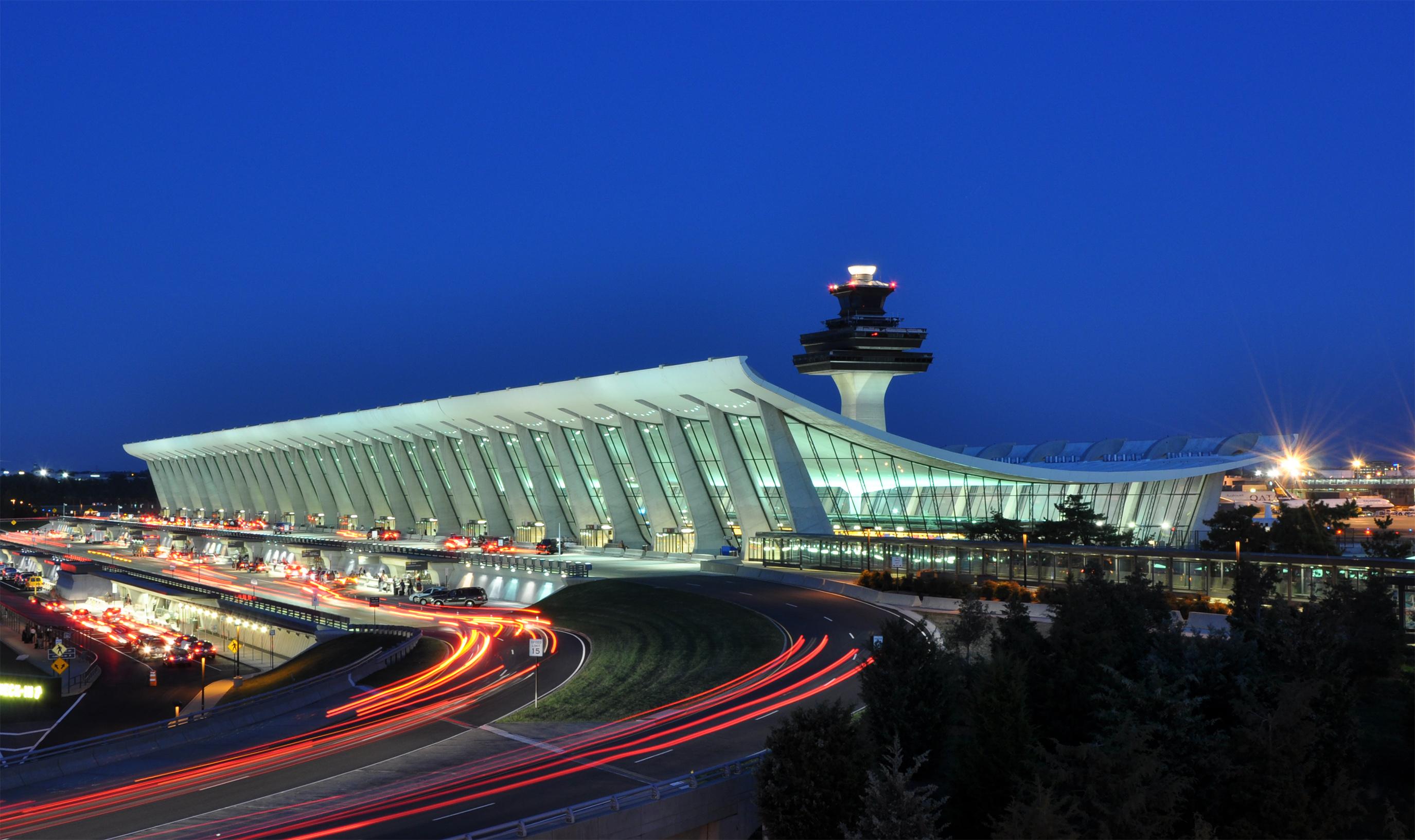 File:Washington Dulles International Airport at Dusk.jpg - Wikimedia ...