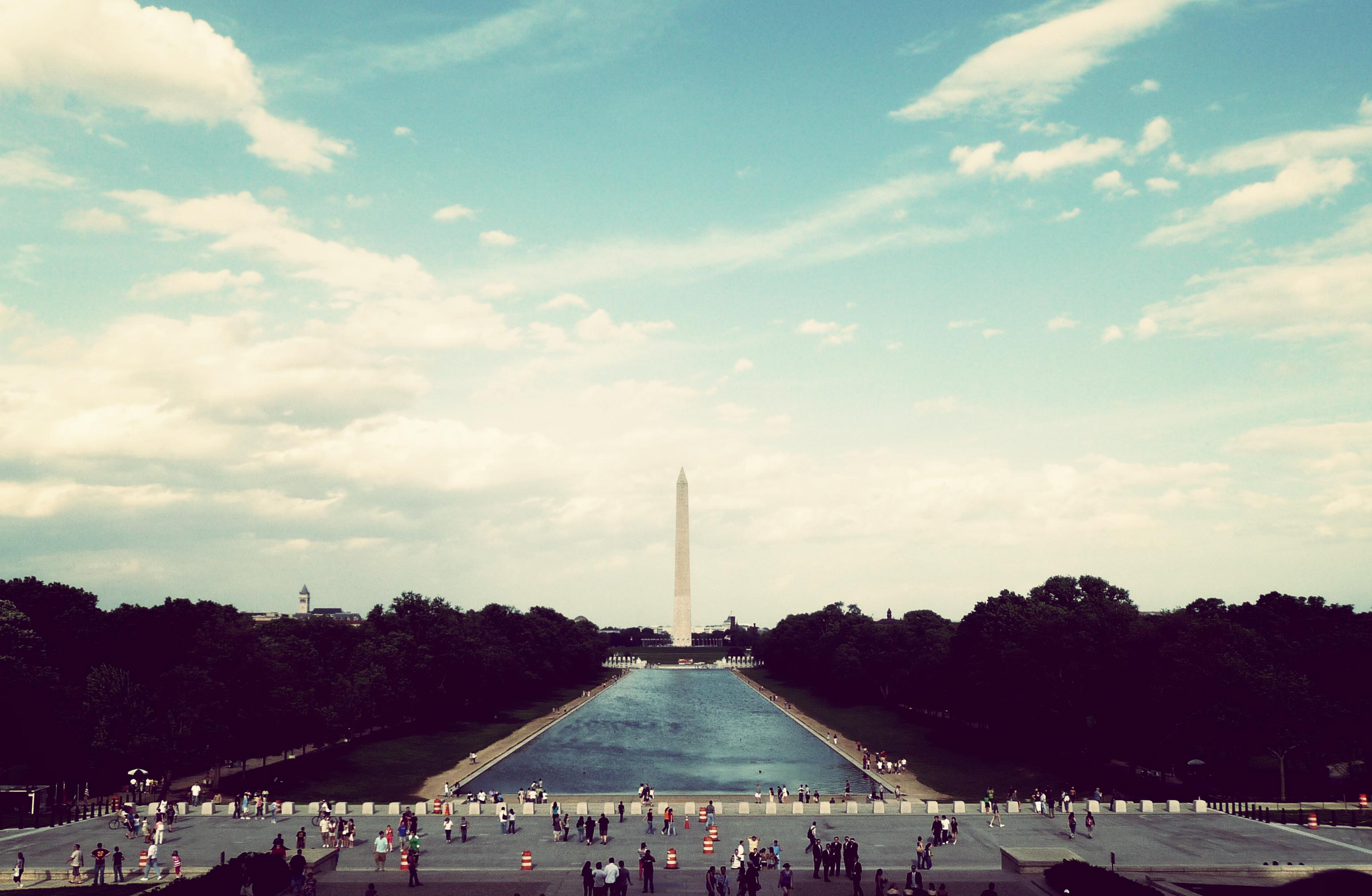 Washington D.C, Activity, Building, Clouds, Monument, HQ Photo