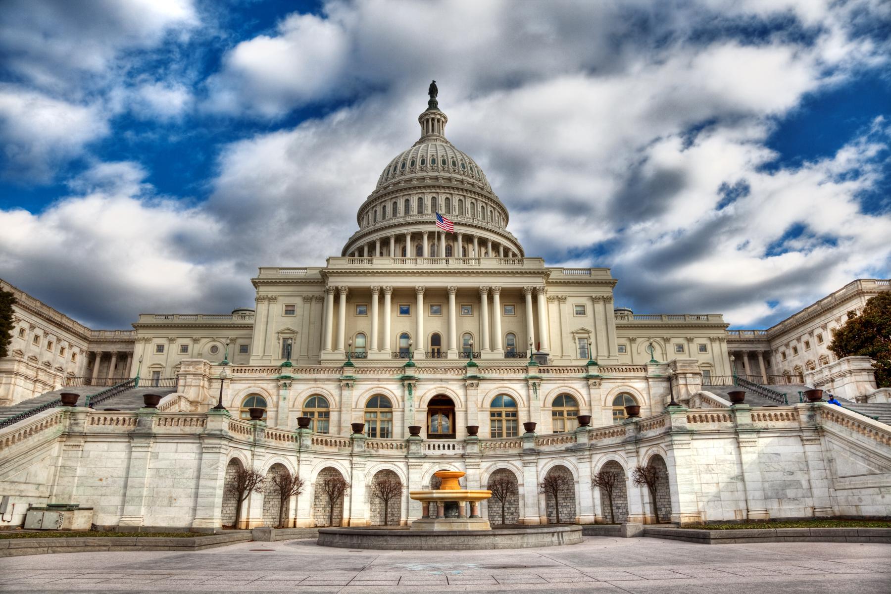 Washington DC Capitol - HDR, America, Senate, Photograph, Picture, HQ Photo