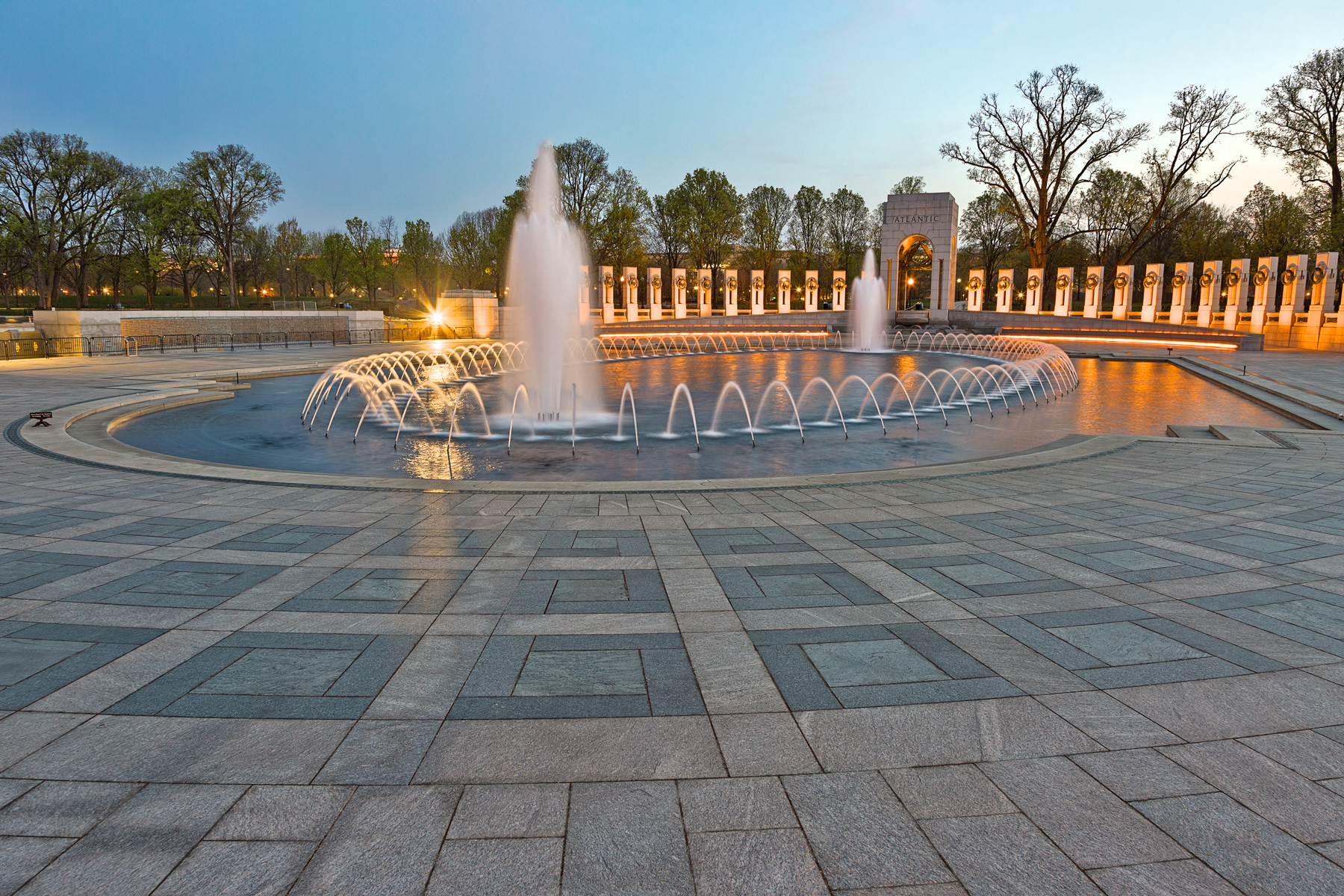 Washington dc world war ii memorial - hd photo