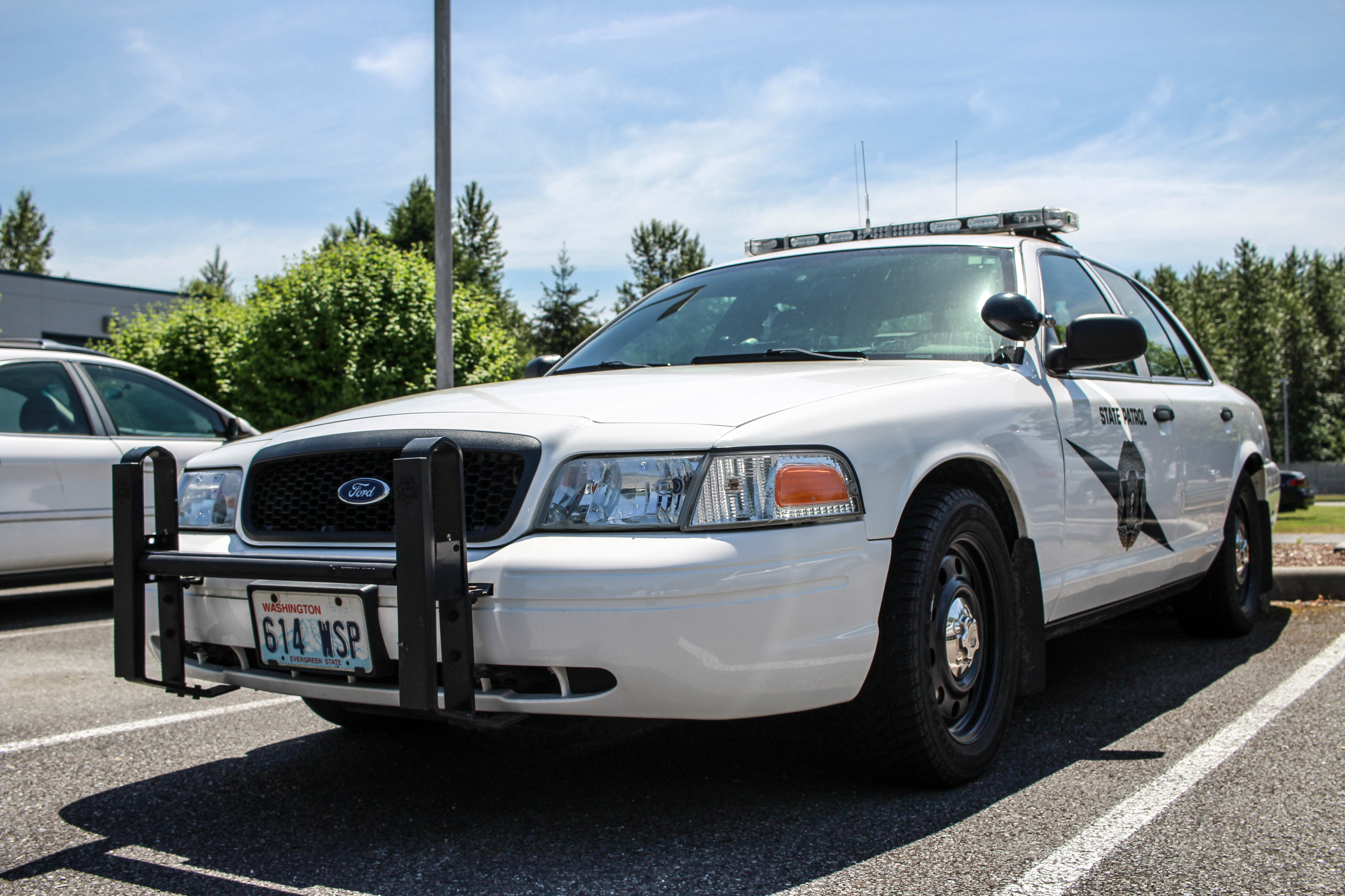 Washington State Patrol (614), Car, Outdoor, Police, Police car, HQ Photo