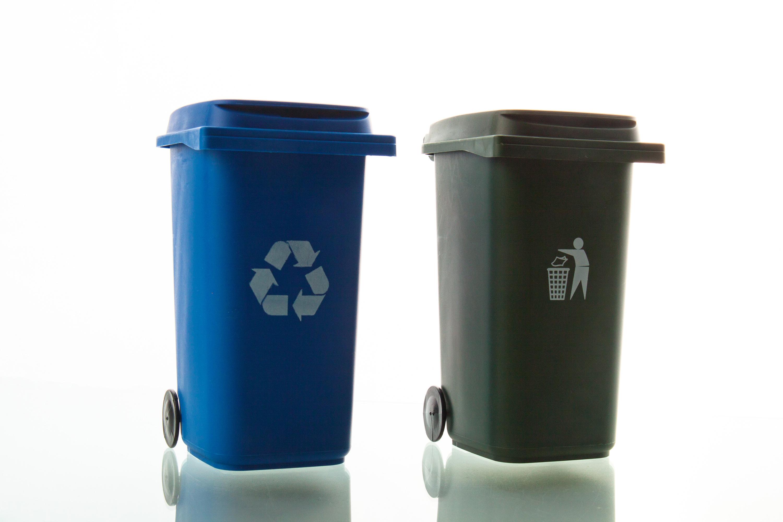 Waste Bins, Bin, Reuse, Over, Paper, HQ Photo