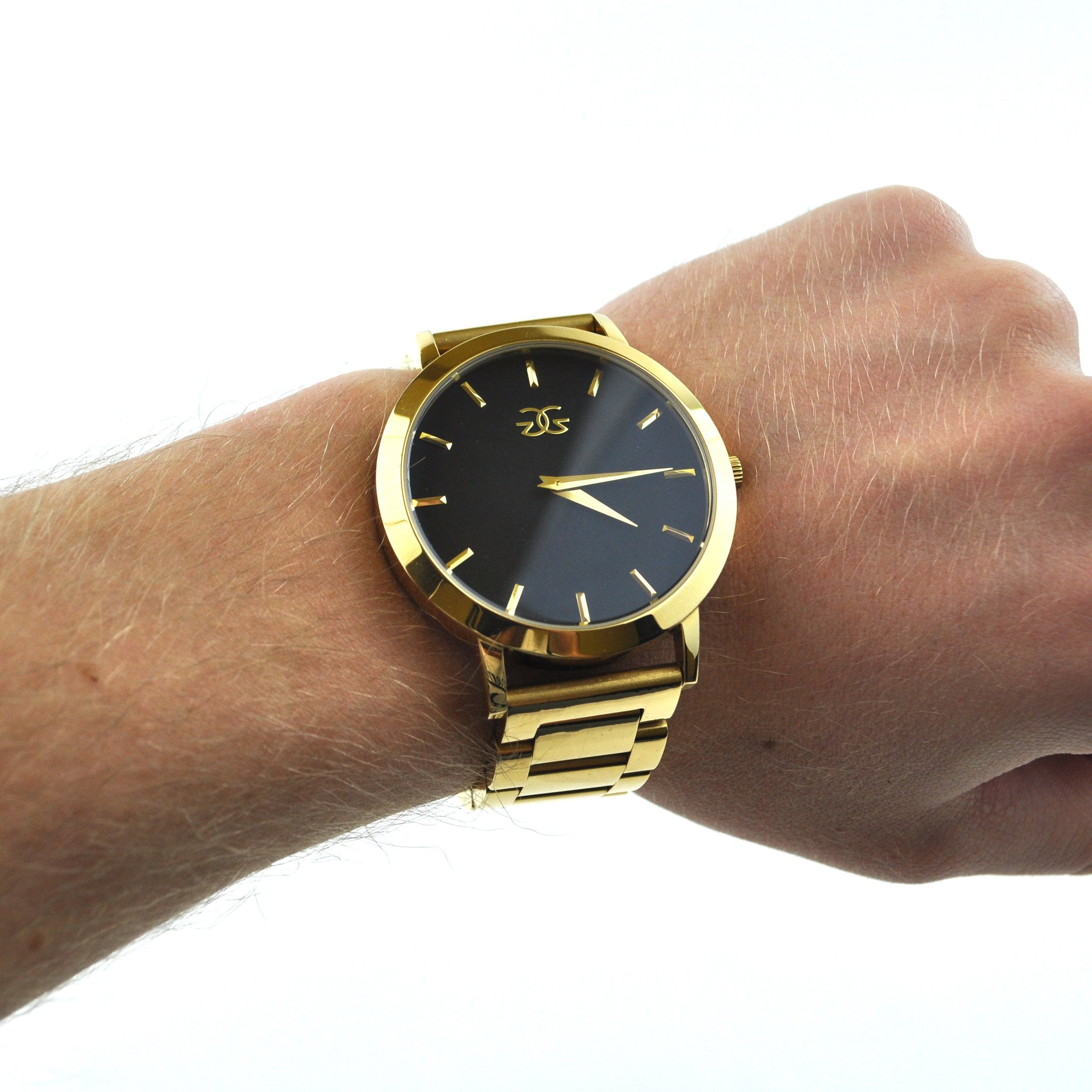 The Vigilate Watch Gold Band - The Gold Gods Jewelry