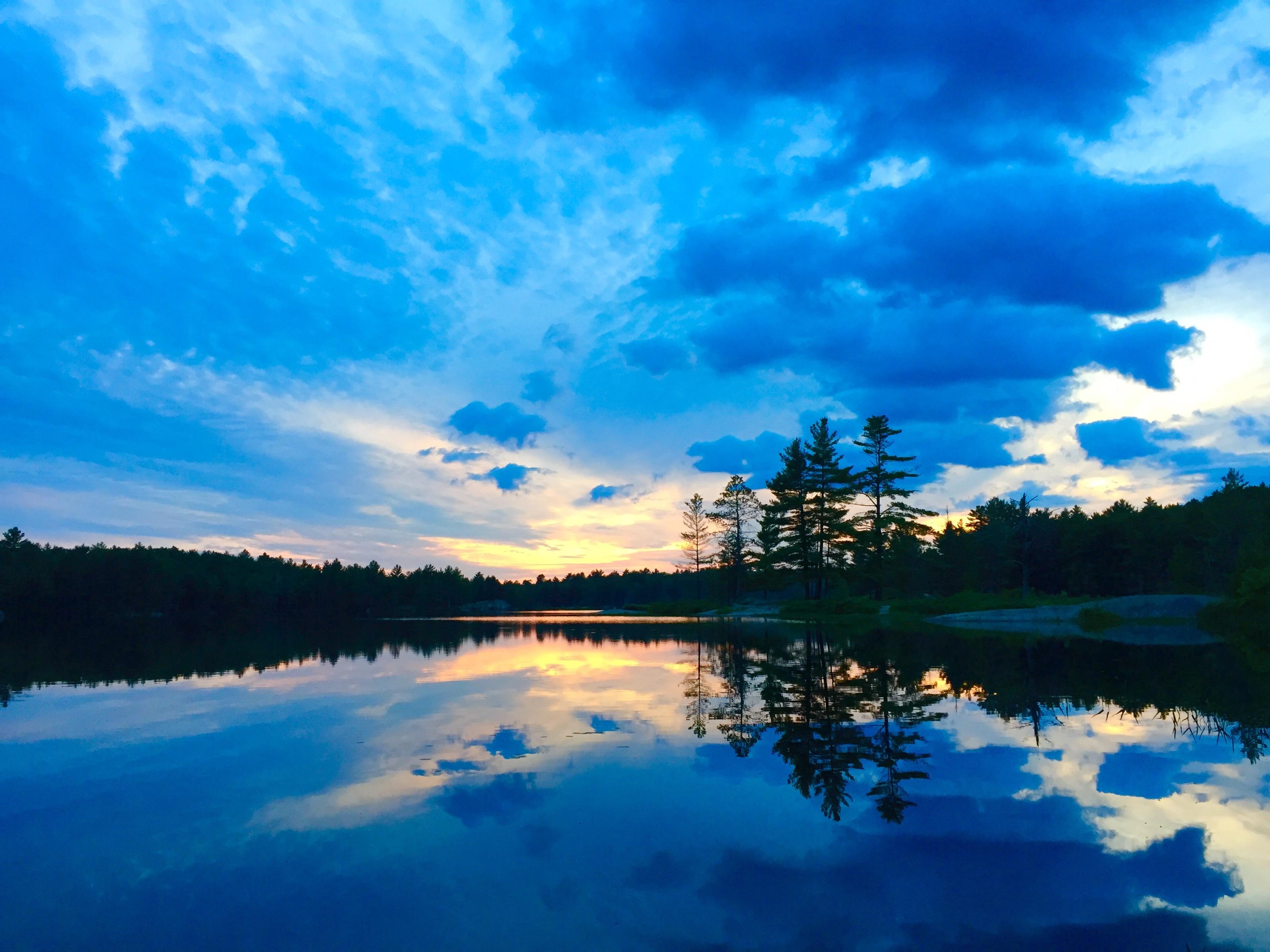Water, Blue, Lake, Reflection, River, HQ Photo