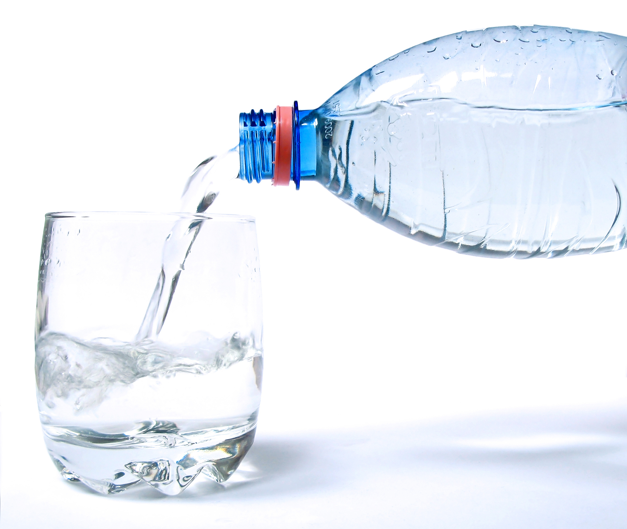 Bottled water under the microscope