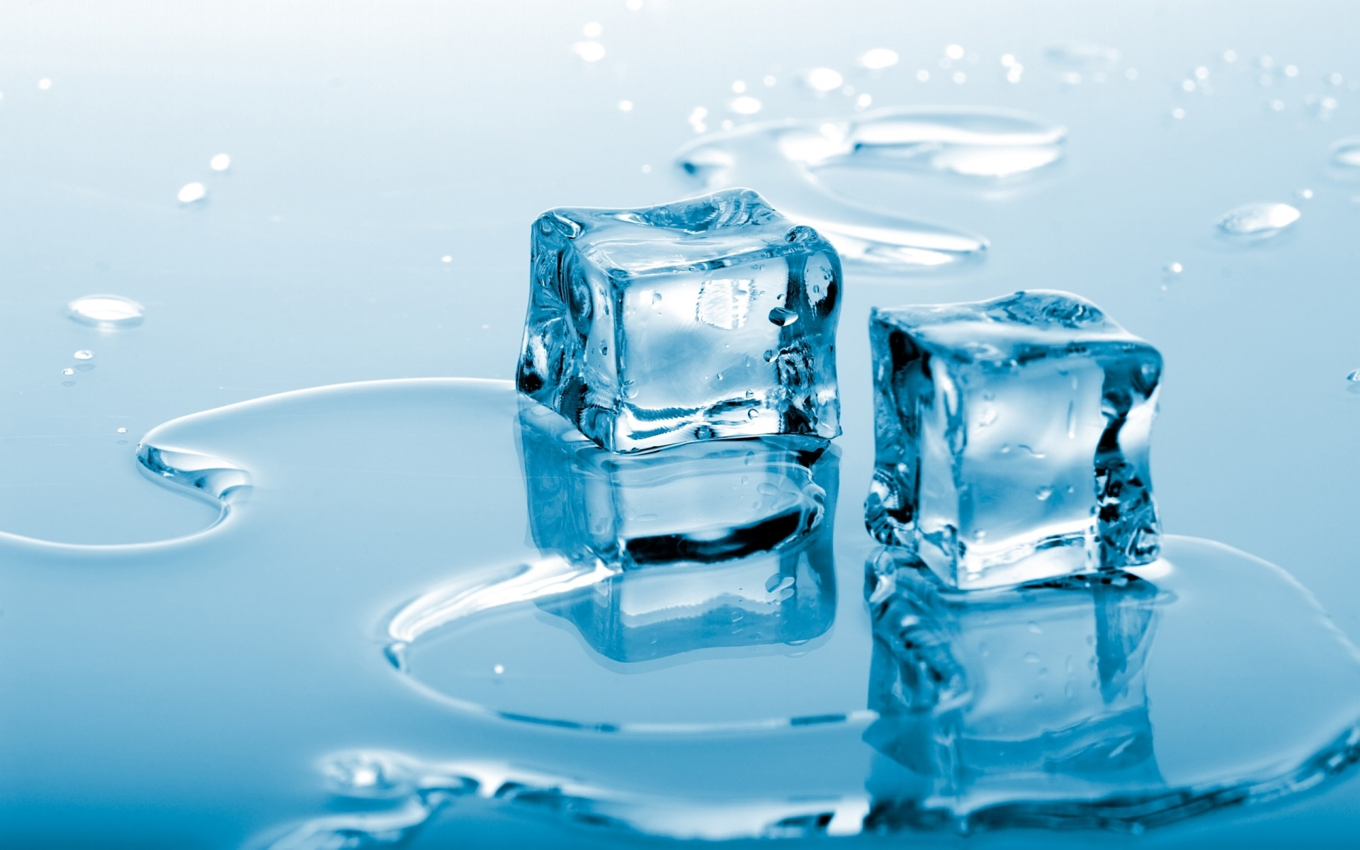 Water and ice photo