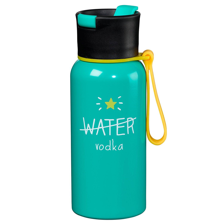 Amazon.com: Happy Jackson Water/Vodka Reusable Water Bottle: Home ...