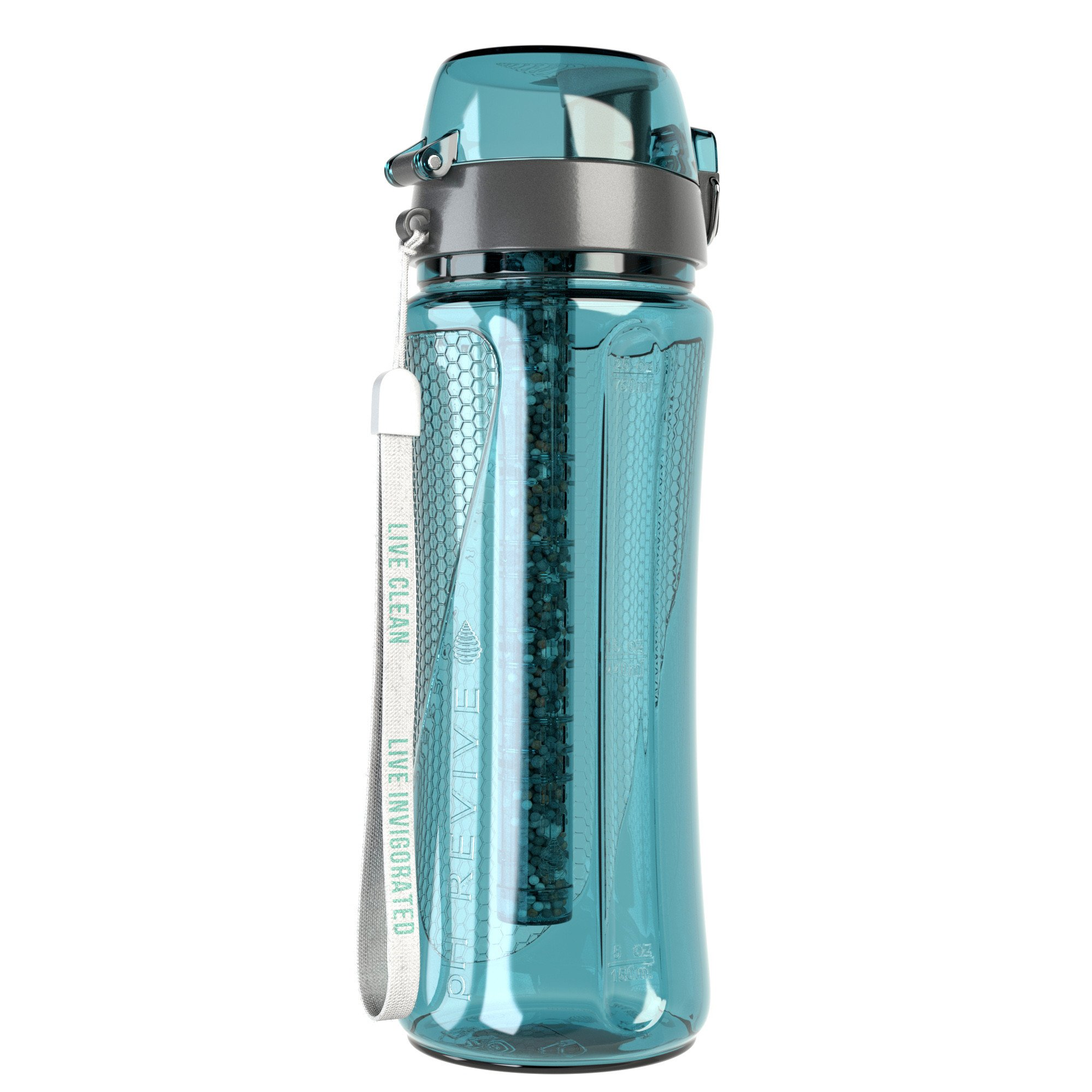 Alkaline Water Bottle (with BONUS Carry Case), pH REVIVE ...
