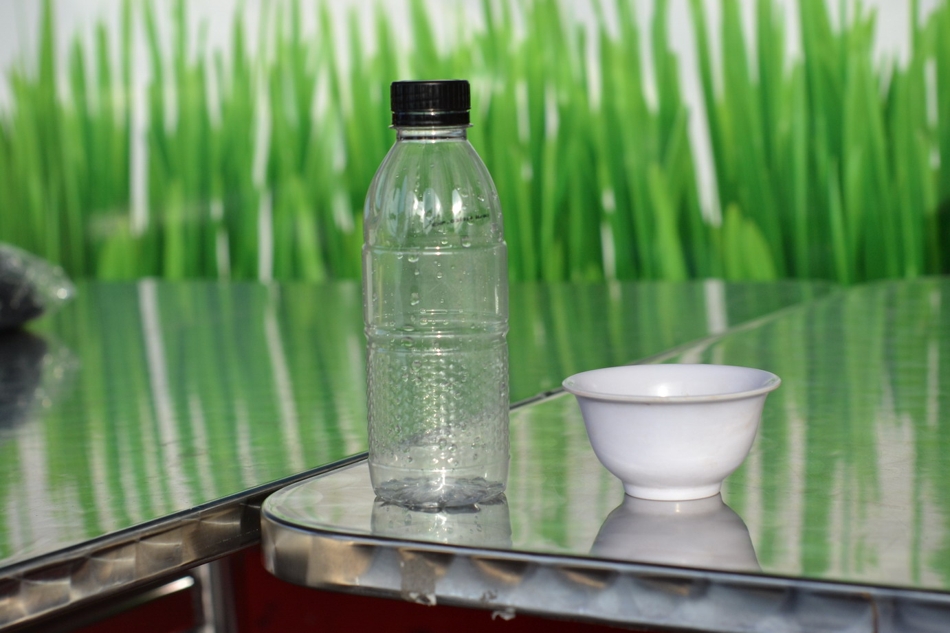 Water Bottle and A Bowl, Bottle, Bowl, Drink, Food, HQ Photo