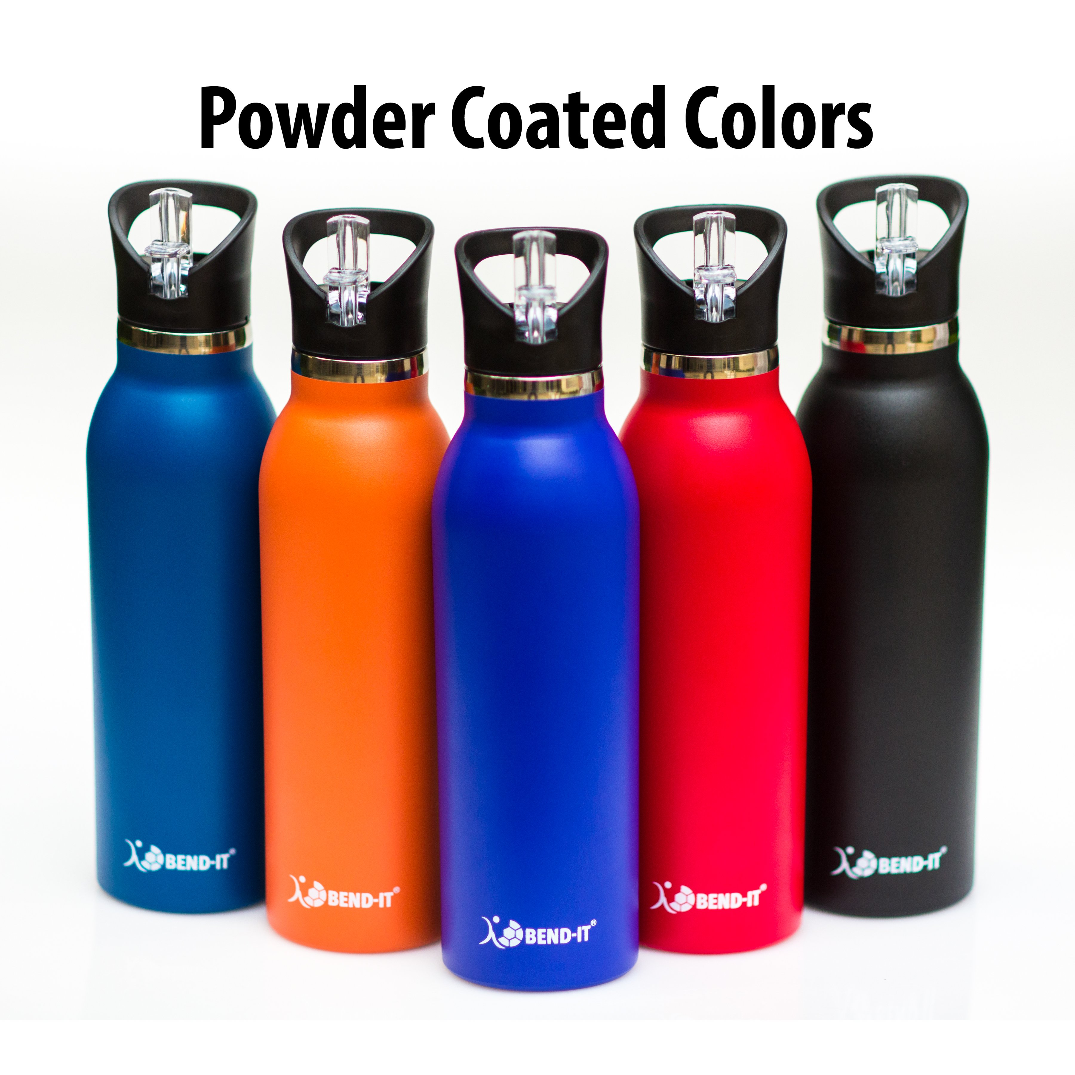 Bend-It The Coldest Water Bottle, Stainless Steel Sports Water ...