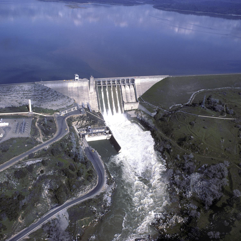 Water control dam photo
