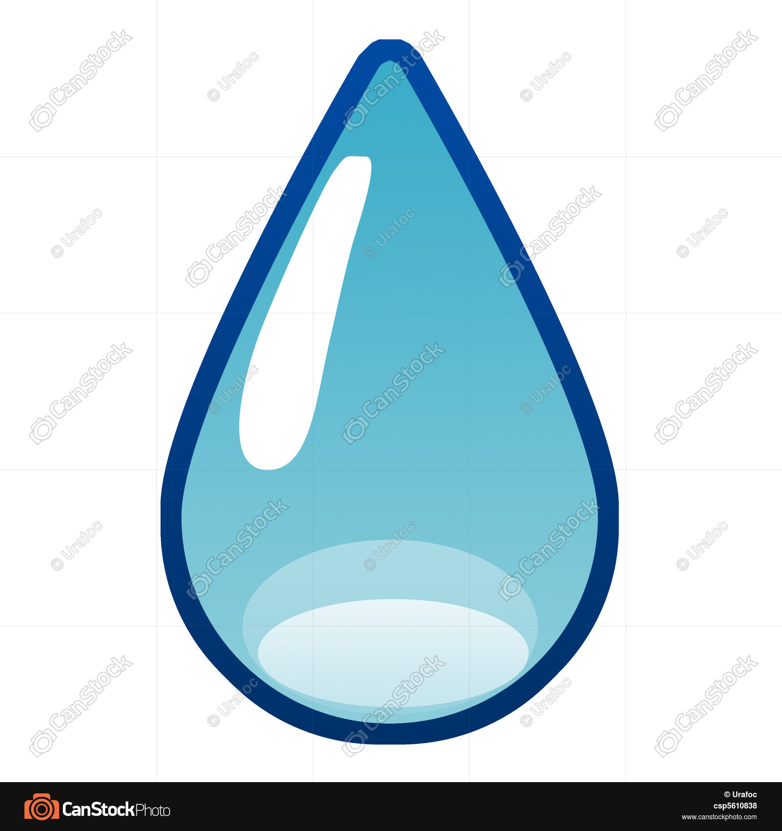 Simple water drop illustration stock illustration - Search EPS Clip ...