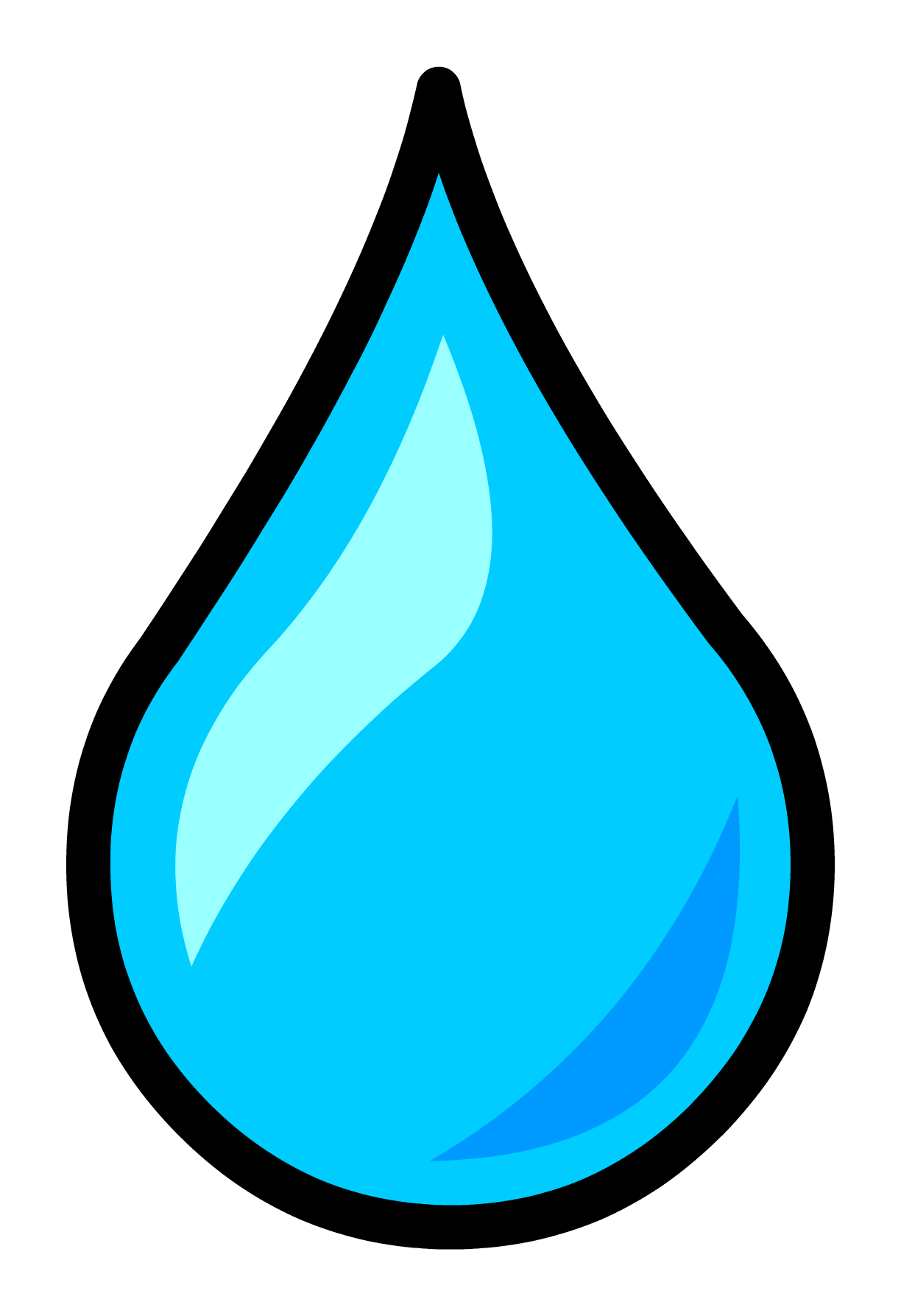 Image - Water Droplet Pin.PNG | Club Penguin Wiki | FANDOM powered ...