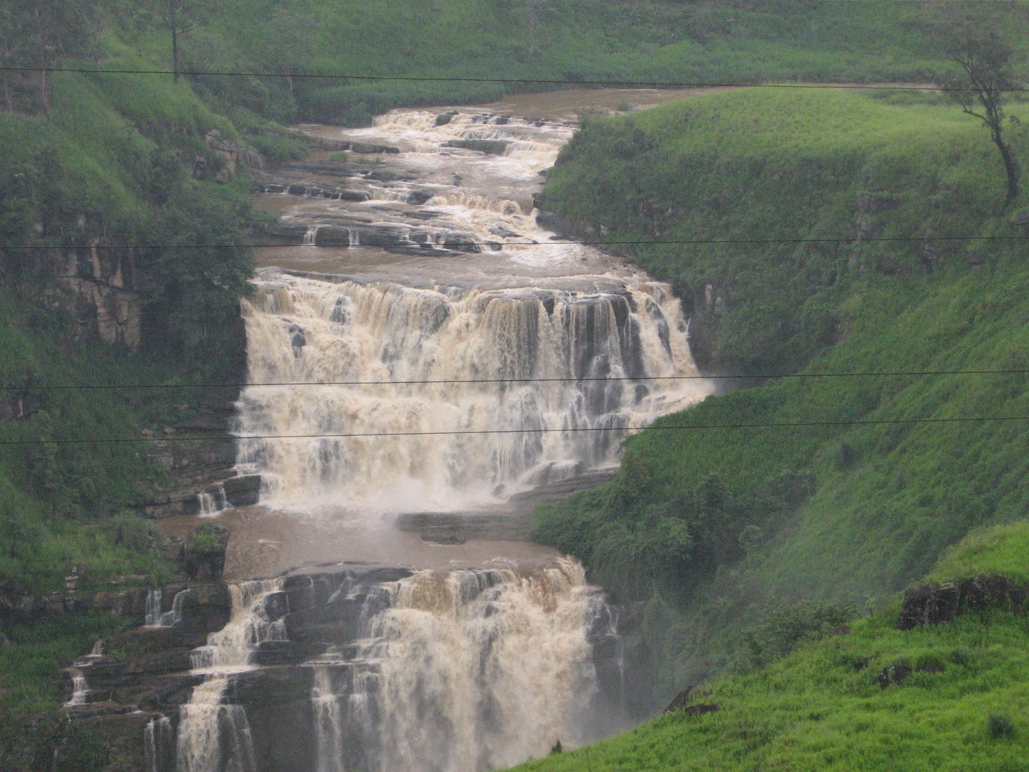 Water fall in sri lanka photo