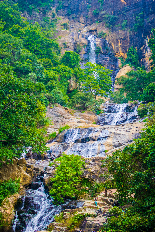 Water Falls, Beautiful, Rocks, Waterfalls, Water, HQ Photo