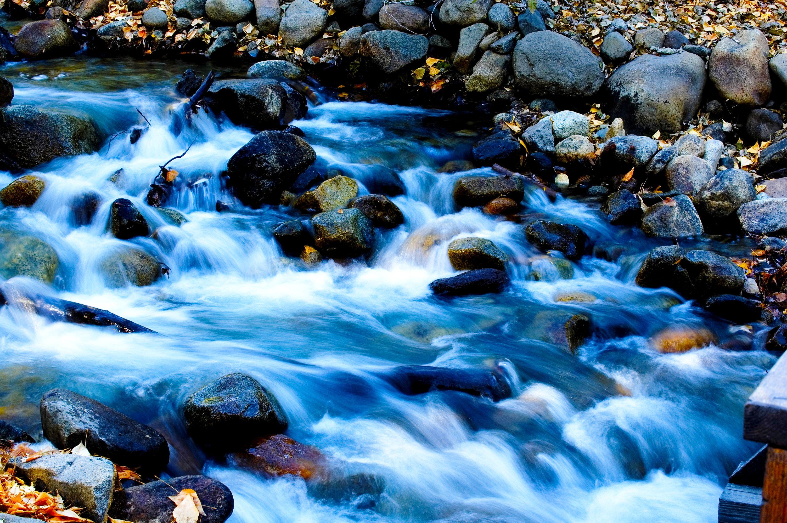 water flowing over rocks   Advanced Art Projects   Pinterest   Water ...