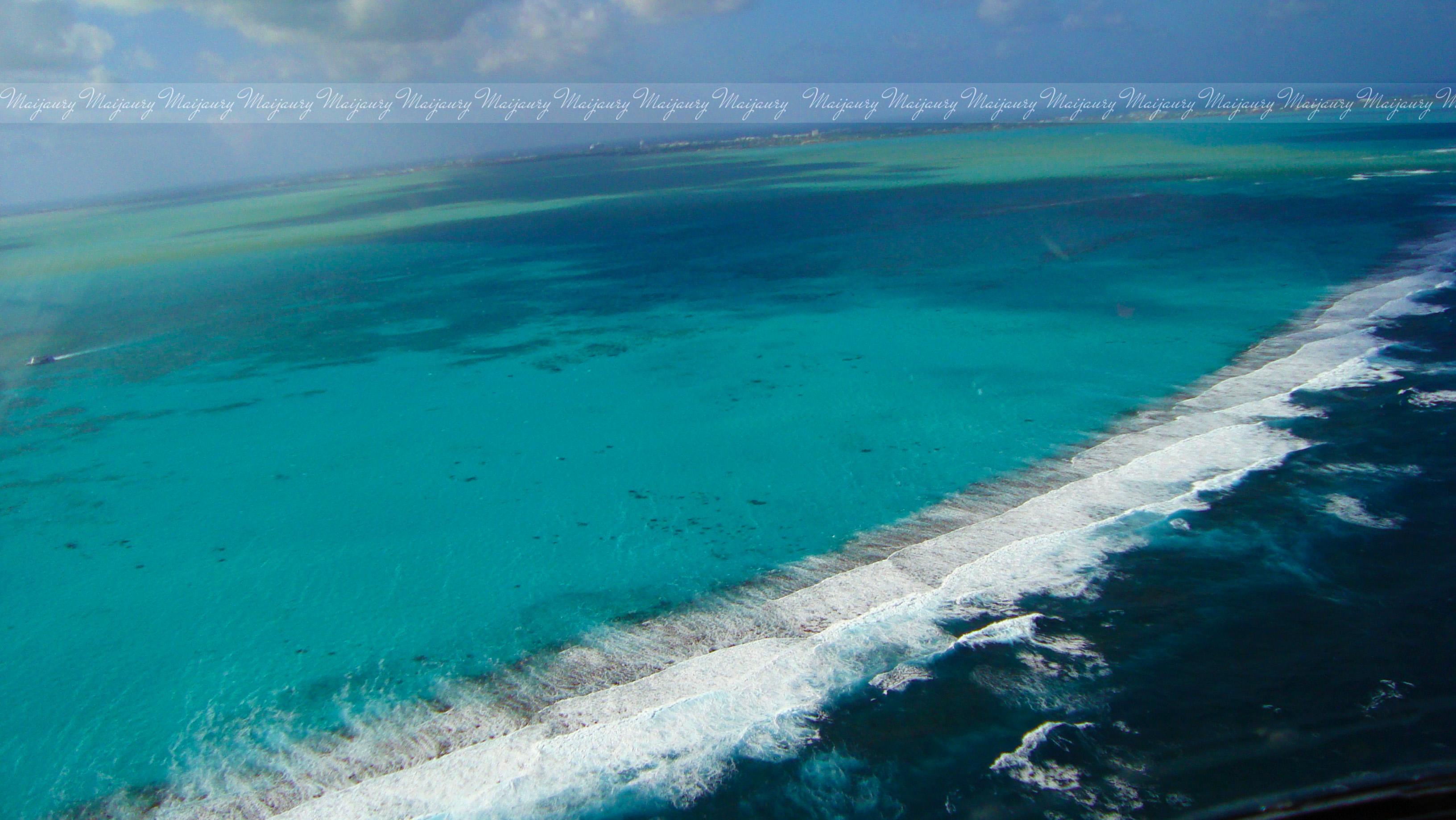 Water meets ocean photo