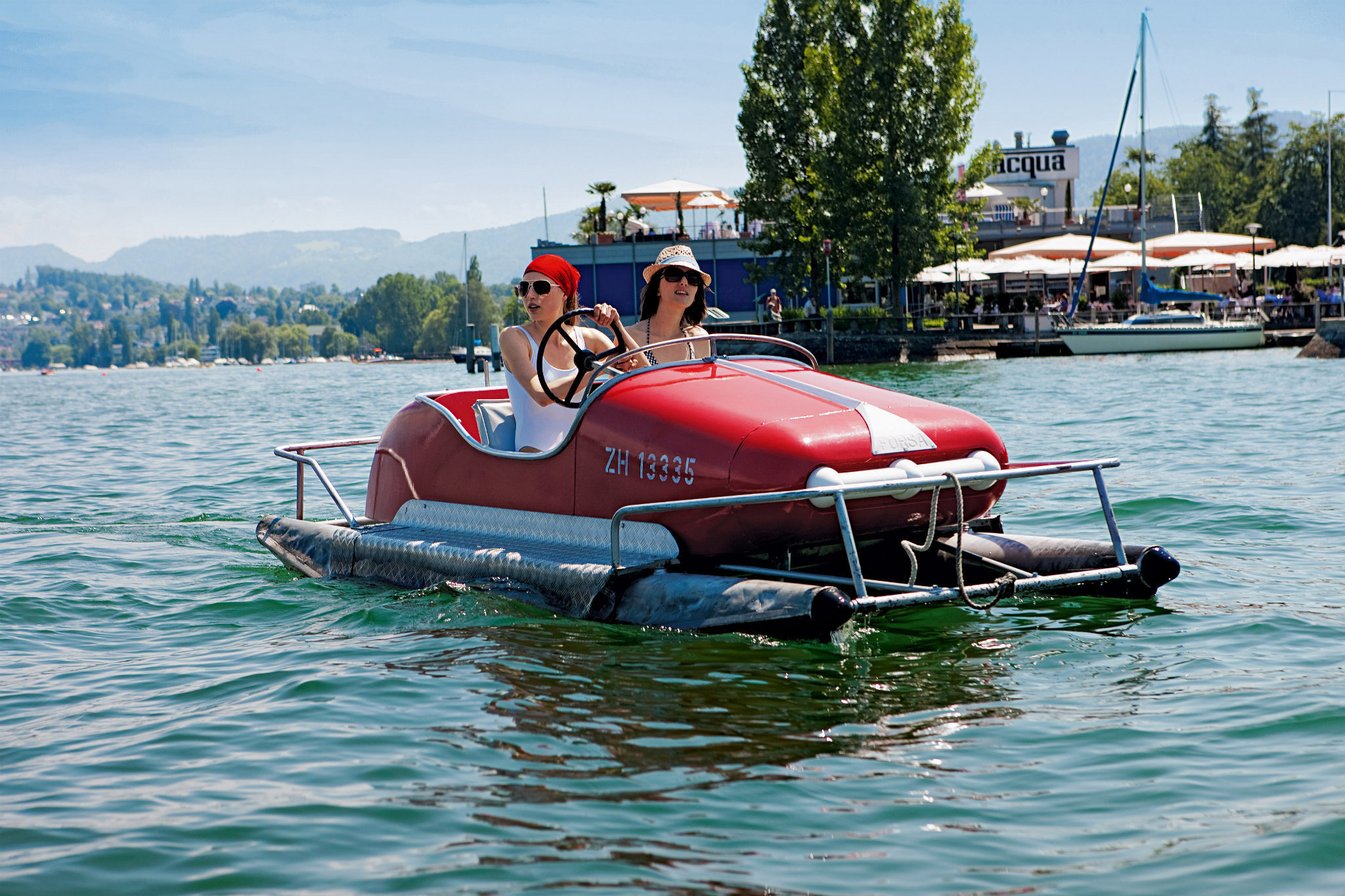 Pedalos on Zurich Lake | Things to do in Kreis 2, Zurich